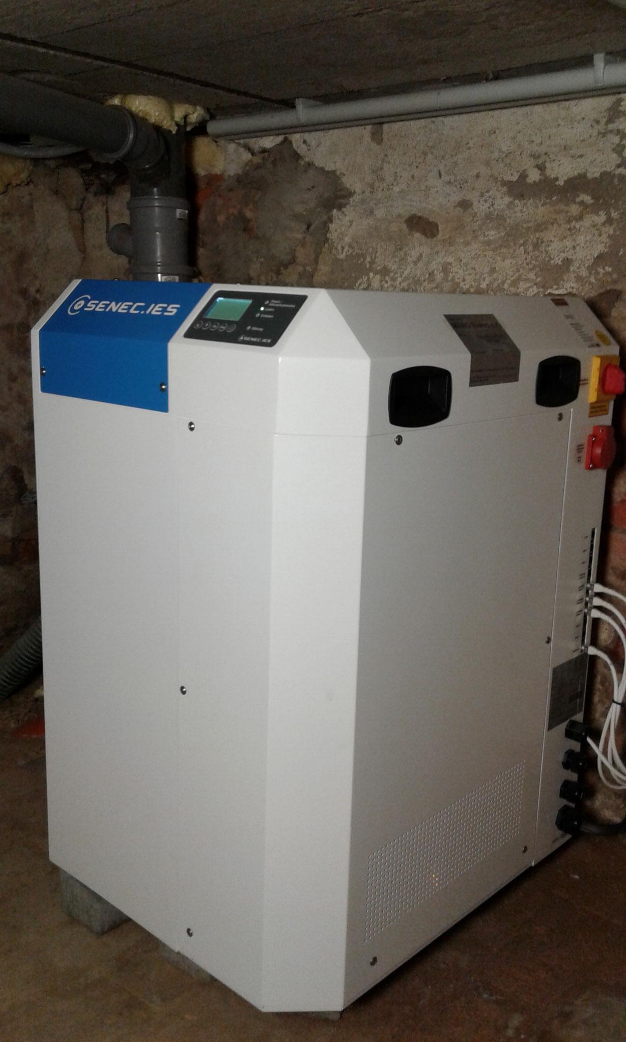 7,5 kW SENEC.Home Li Speicher in Verbindung mit SENEC.CLOUD 100% Unabhängigkeit in Malchow