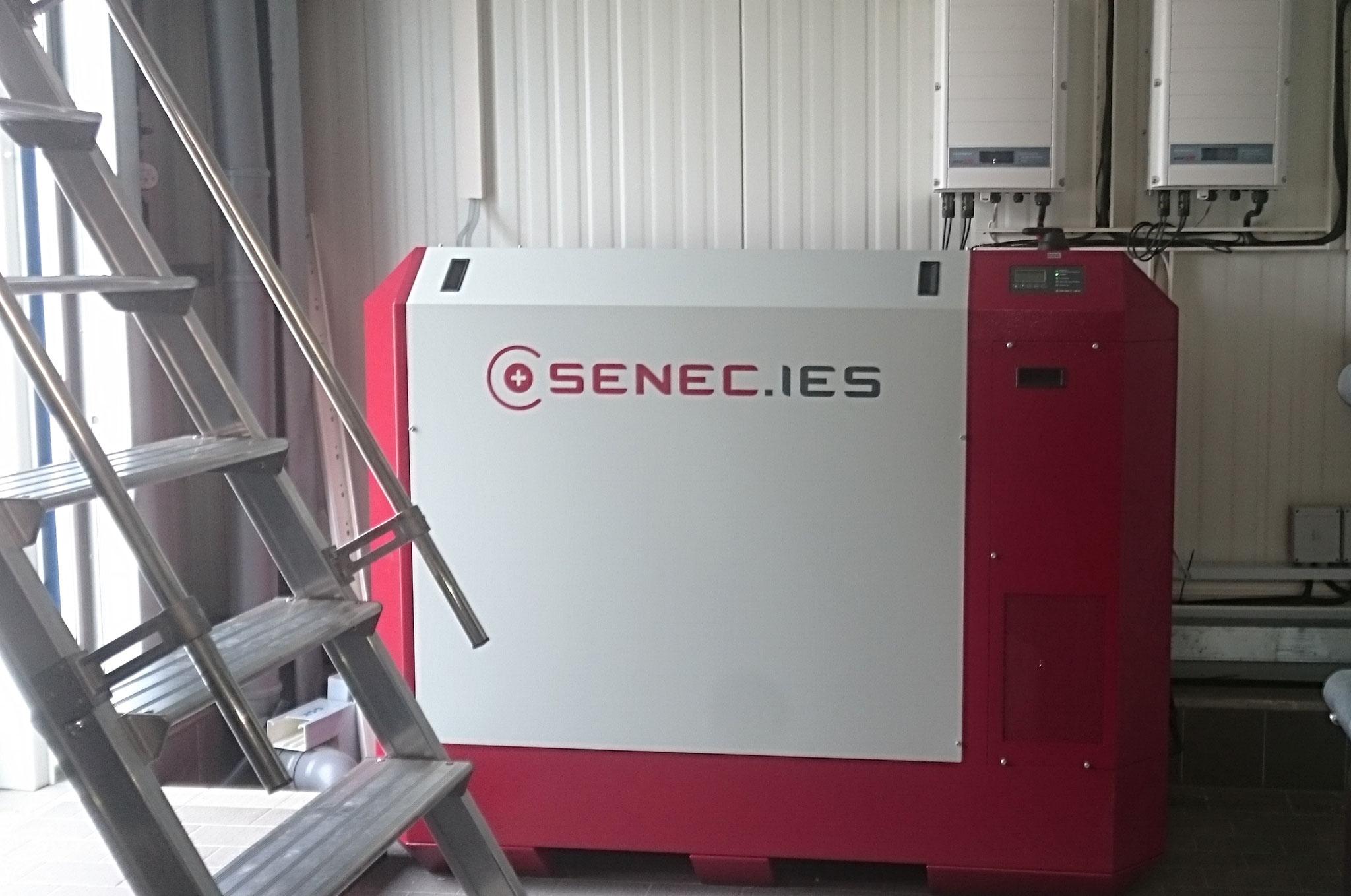 30 kWh Pb SENEC.IES Business Speicher mit Econamic.Grid für Waschanlage und Tankstelle in Panketal