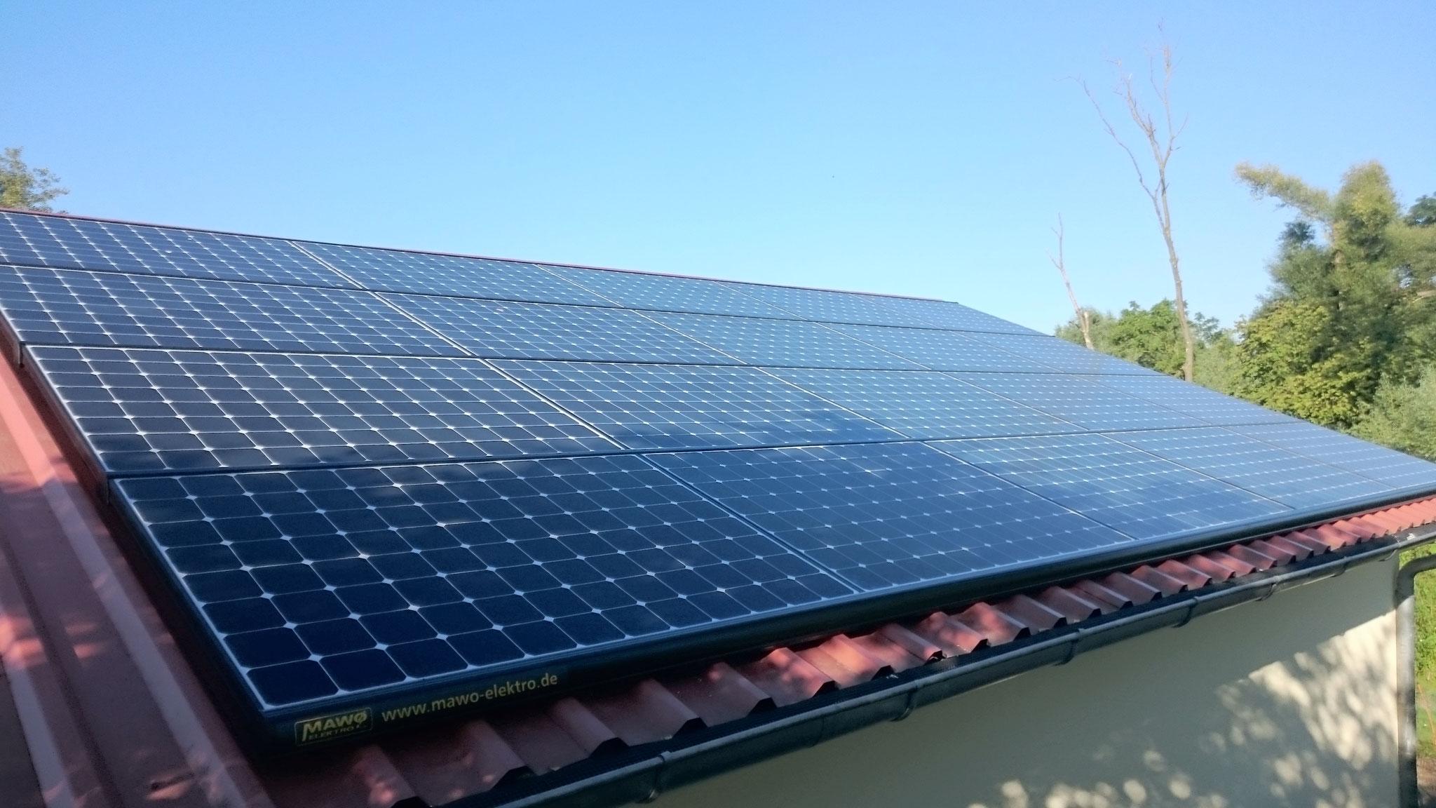 26,16 kWp Sunpower mit Solaredge Wechselrichter SÜD inkl. Speicher und Cloud in Bützow