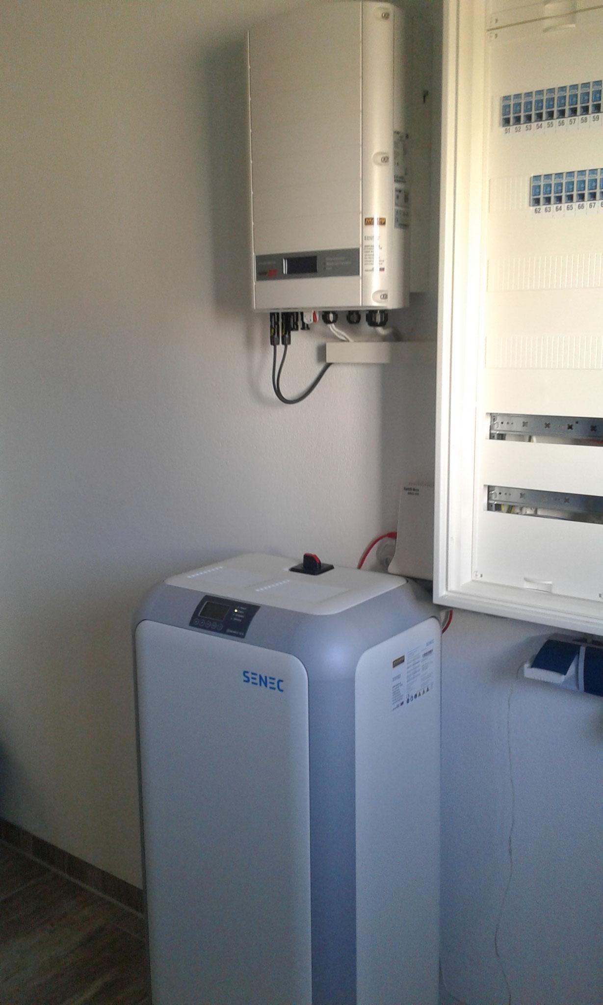 10 kWh Senec Speicher in Satow