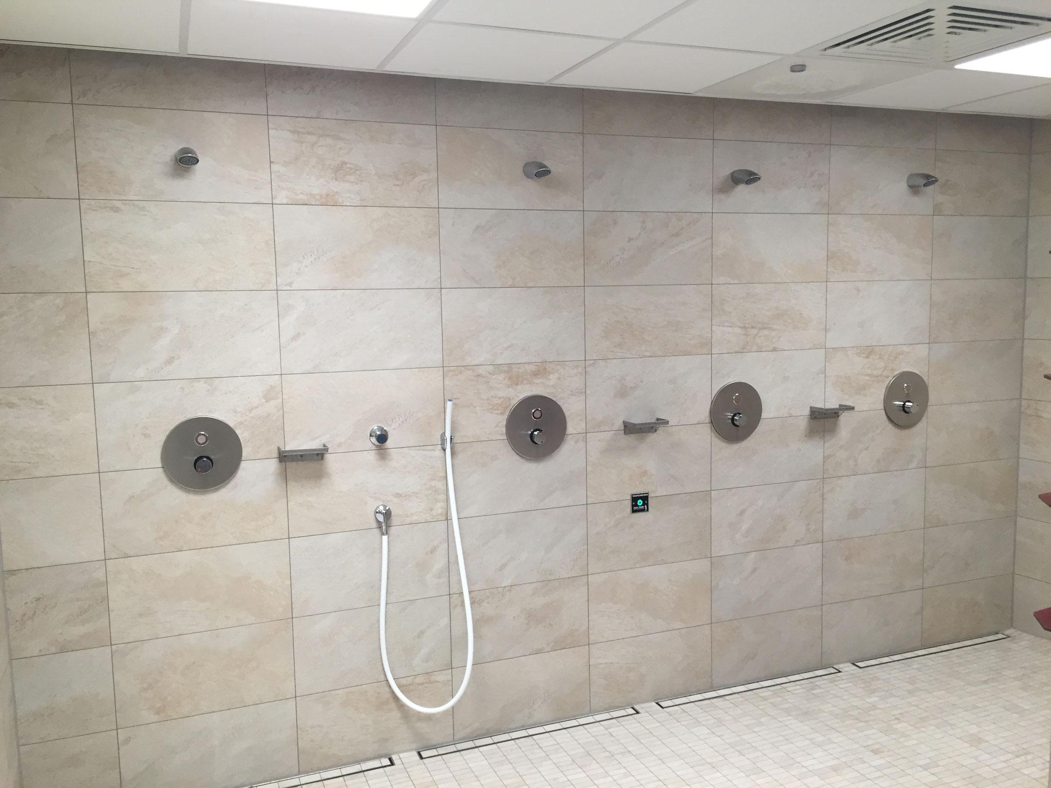 Duschbereich mit Kneipanwendung
