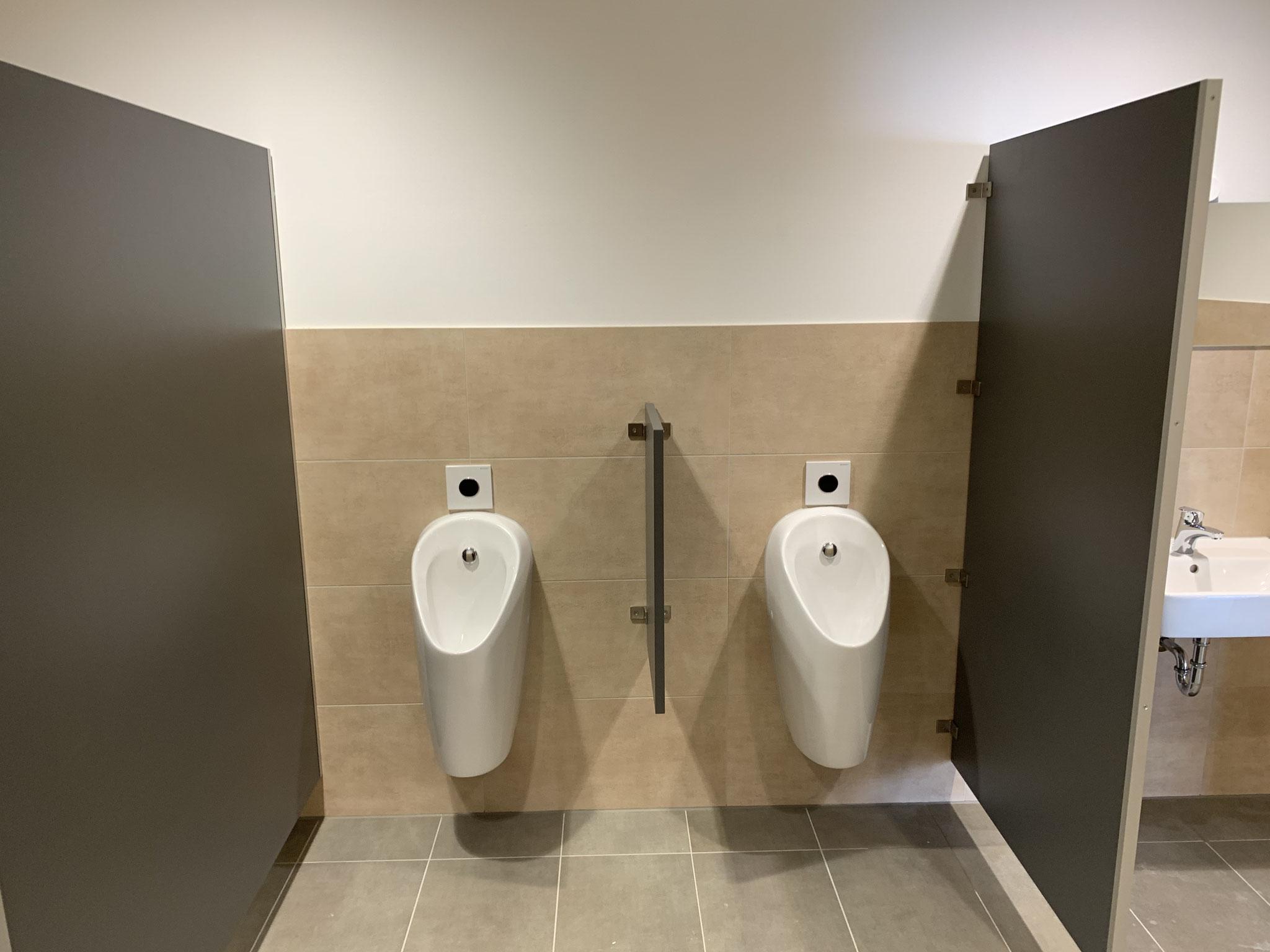 Urinale mit integrirter Näherungselektronik