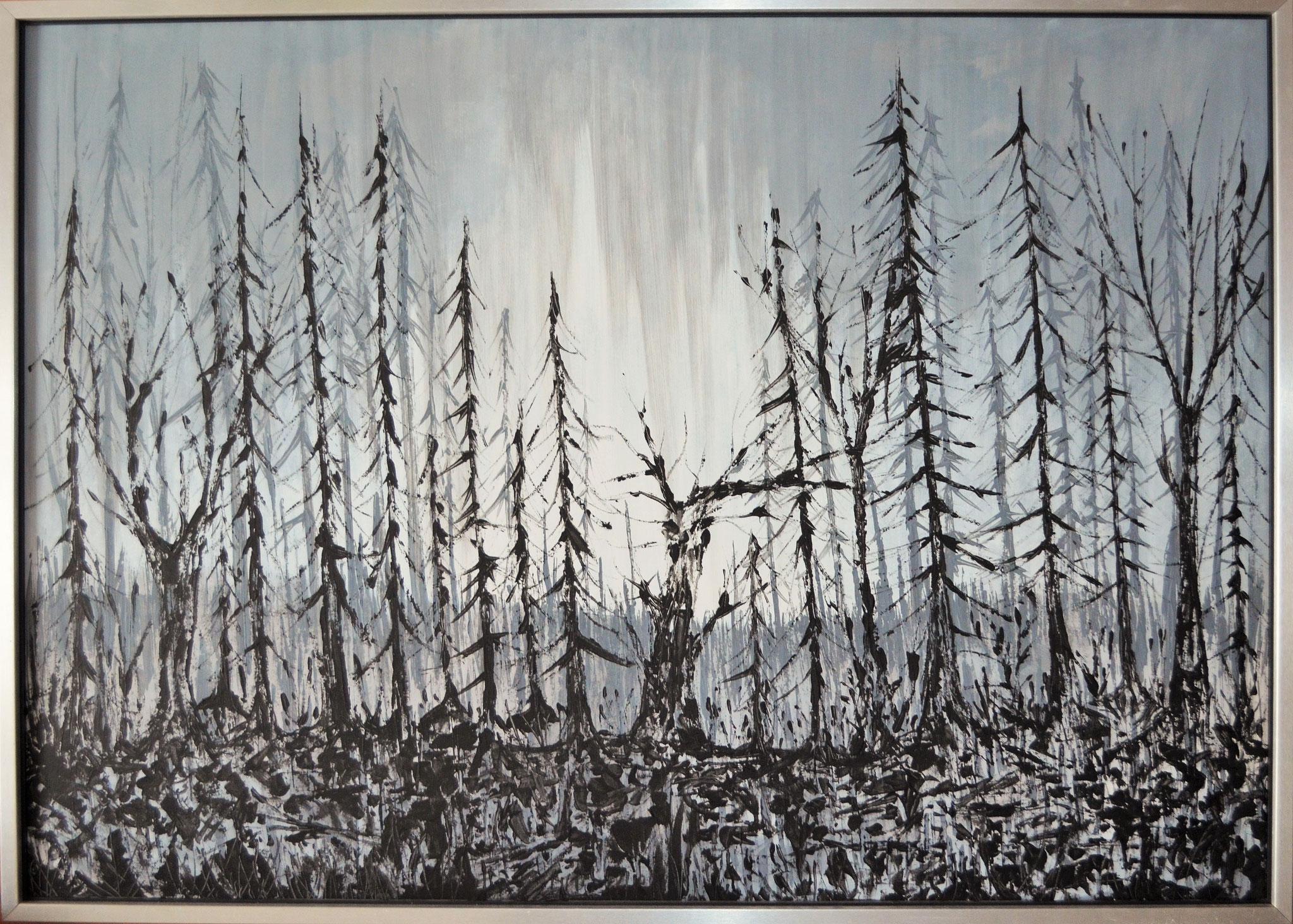 Burned souls (2016). 136 x 98 cm.