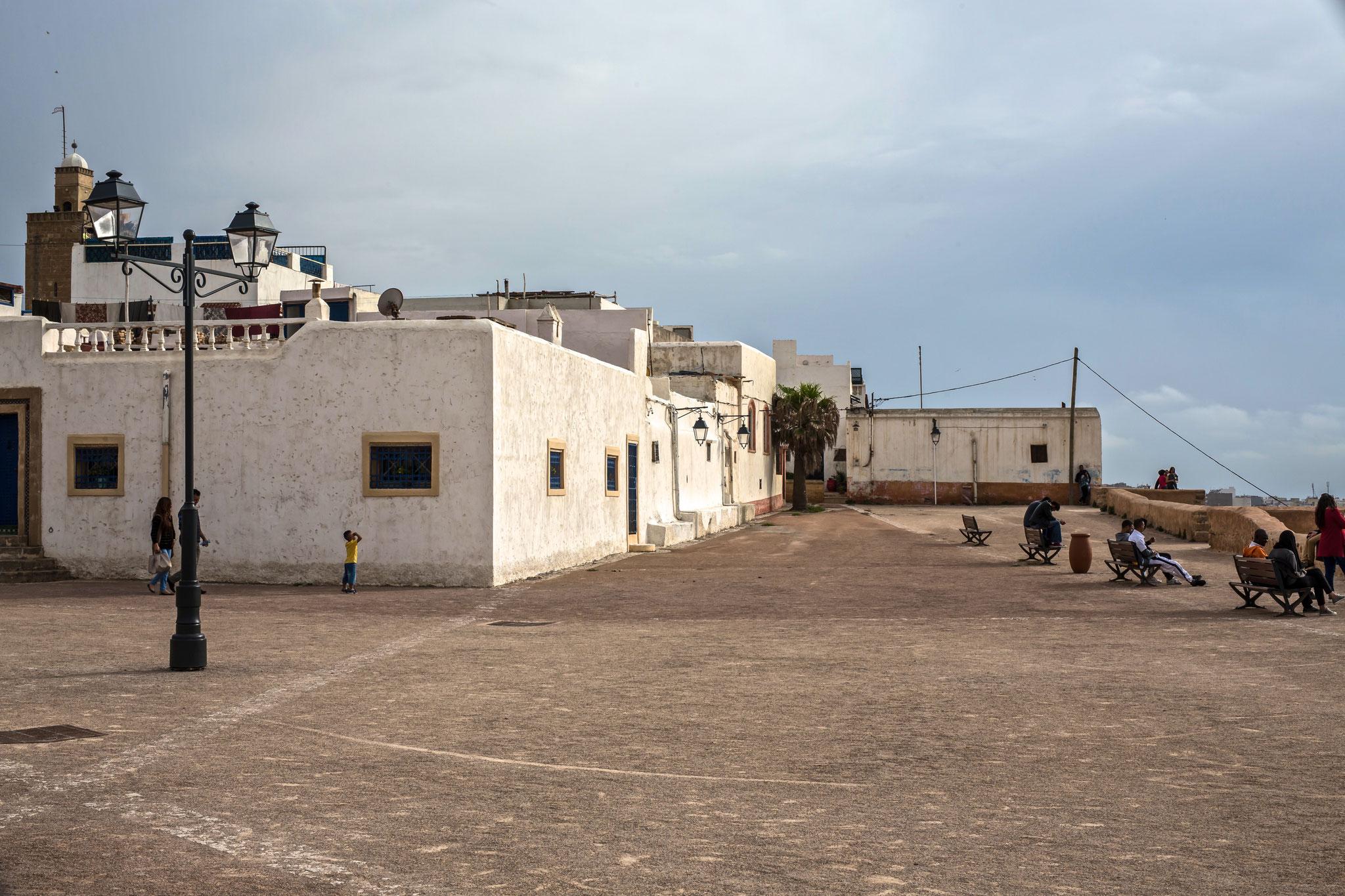 in der Kasbah des Oudaias.