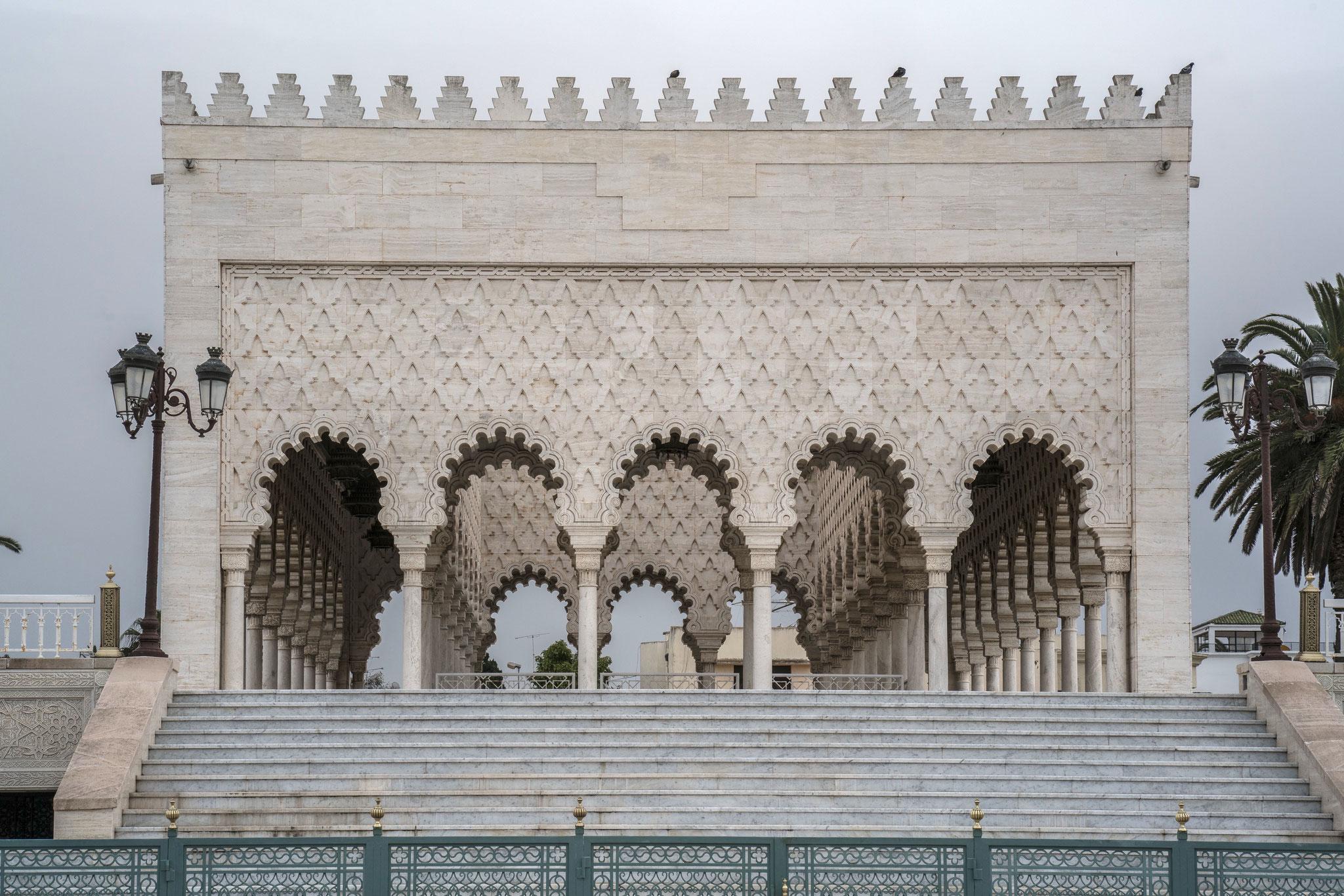 Mausoleum Mohammed V.