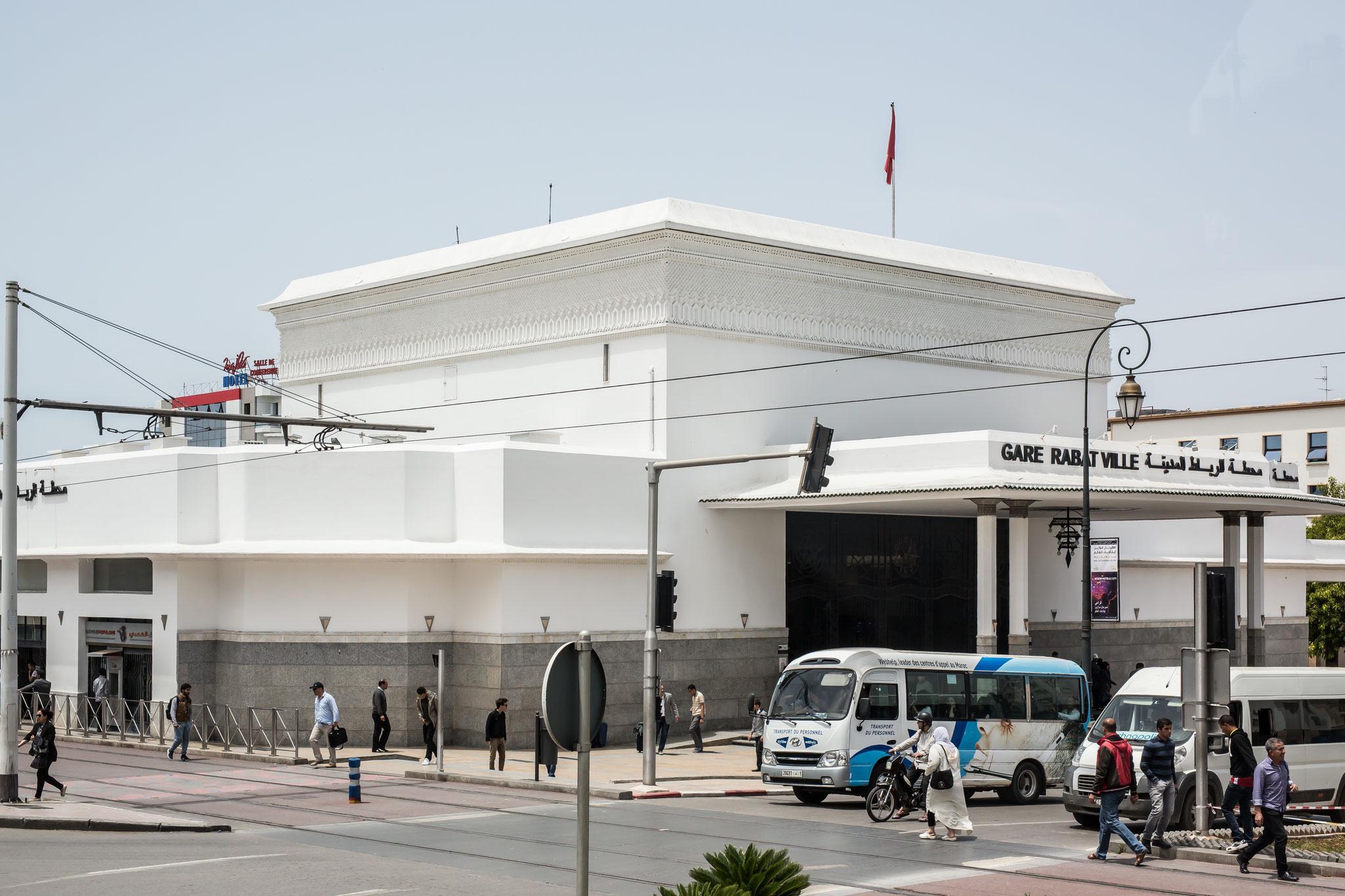 Bahnhof Rabat.