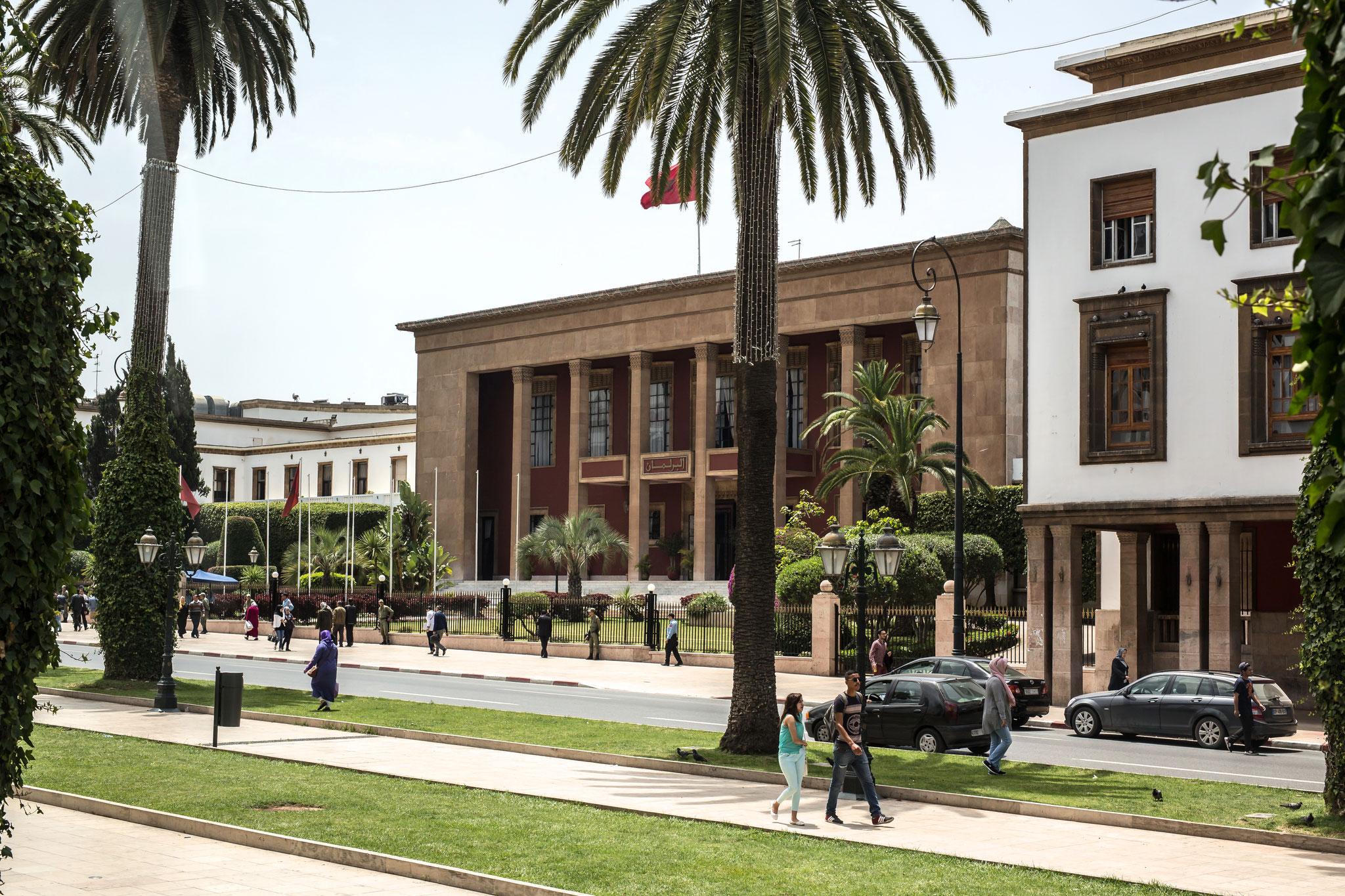 Parlamentsgebäude in Rabat.