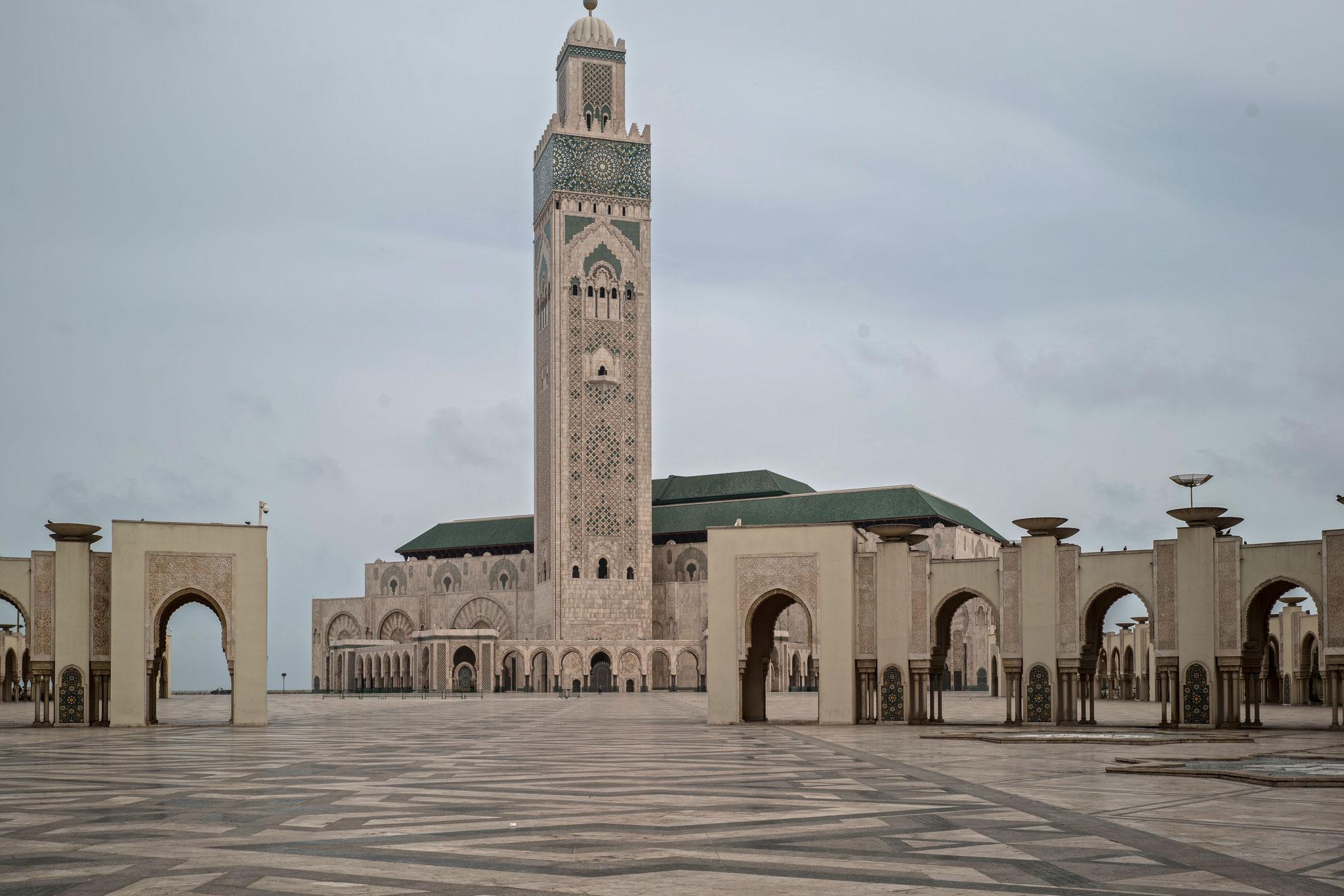 La Grande Mosquée Hassan II.