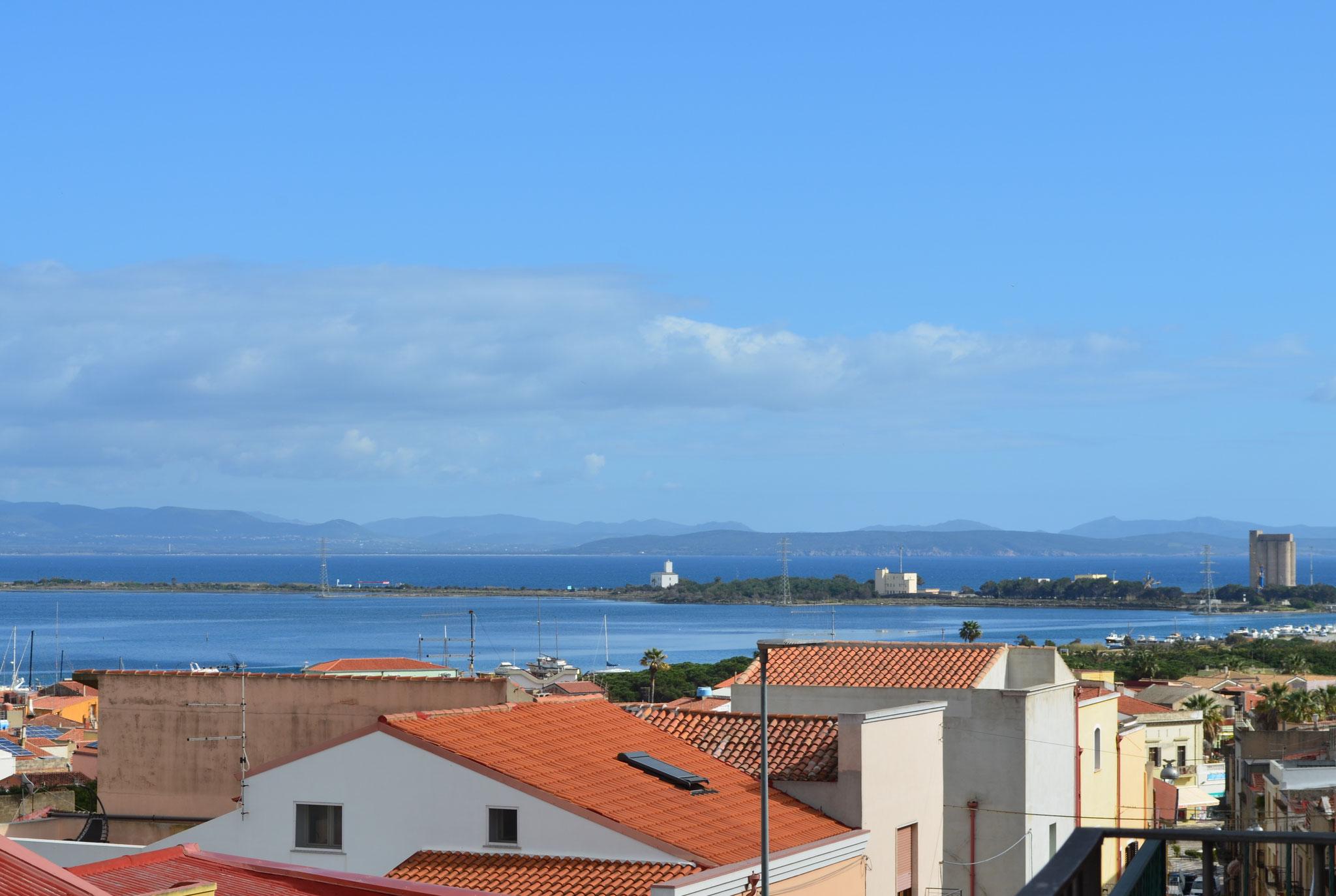 """Vue panoramique du balcon de la chambre """"La Lagune"""""""