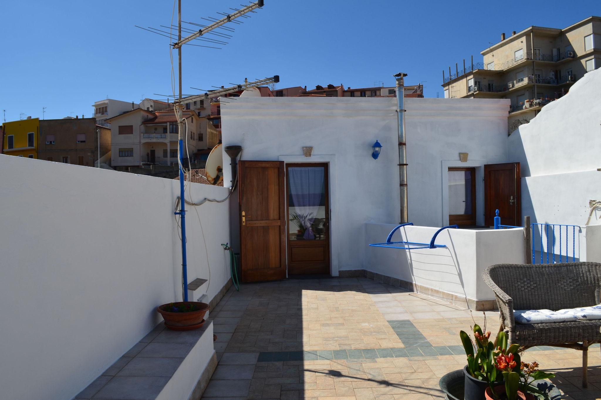 """Terrasse panoramique privée de la chambre """"Le Belvédère"""""""