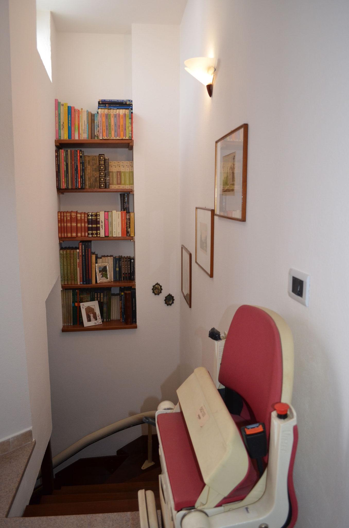 1° floor stairs