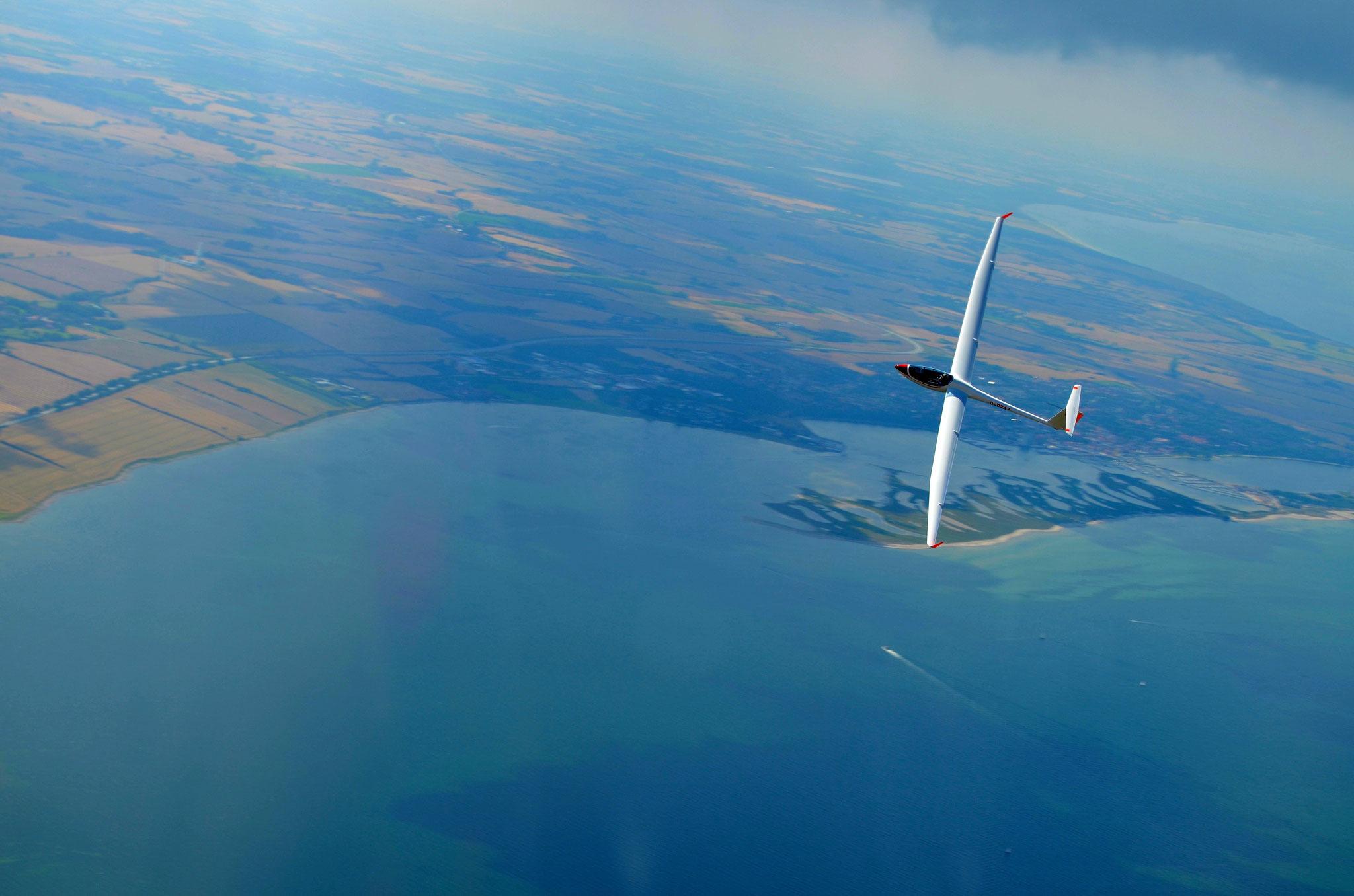 Segeln über der Ostsee