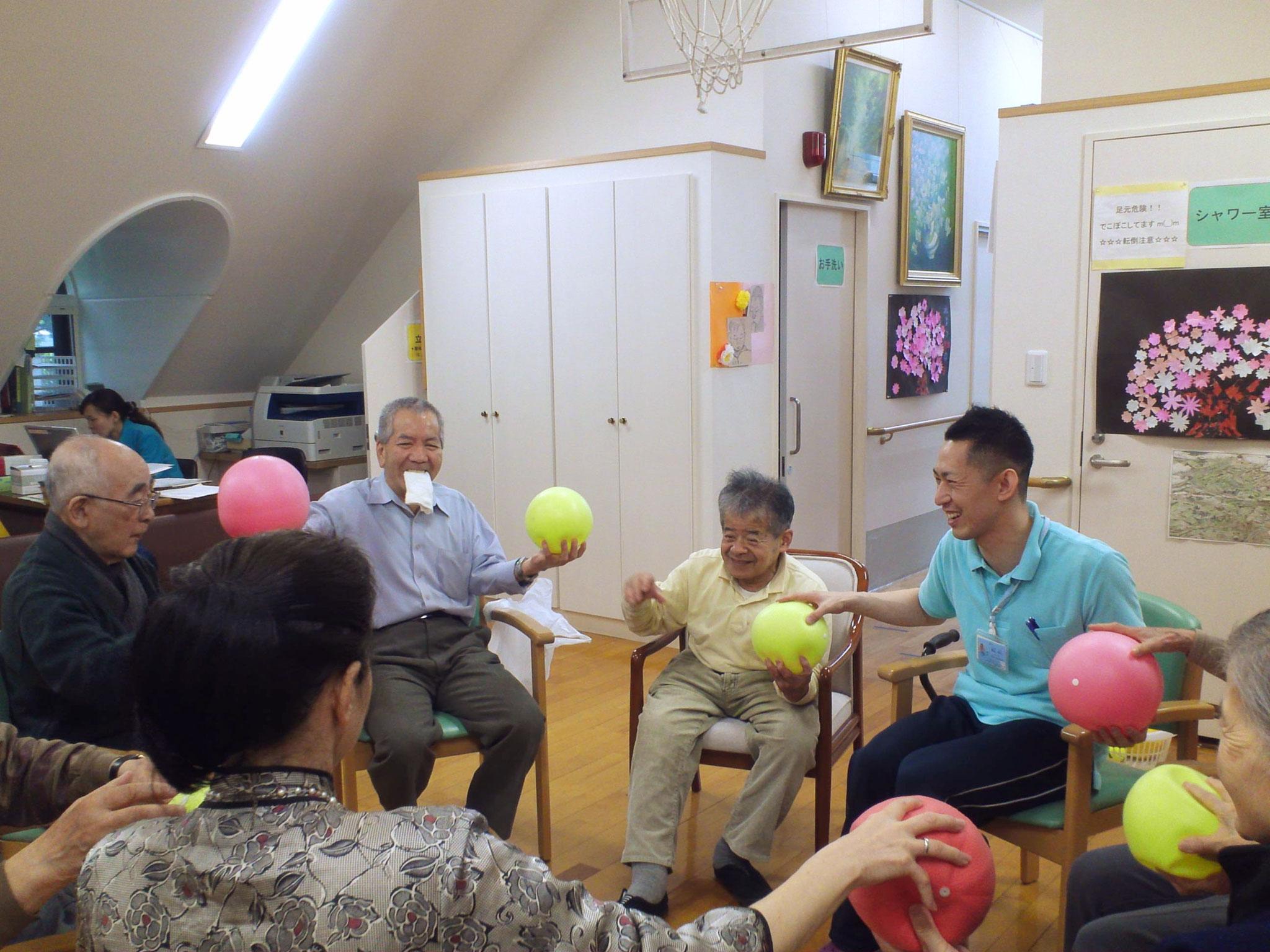 整形外科 介護予防の体操教室