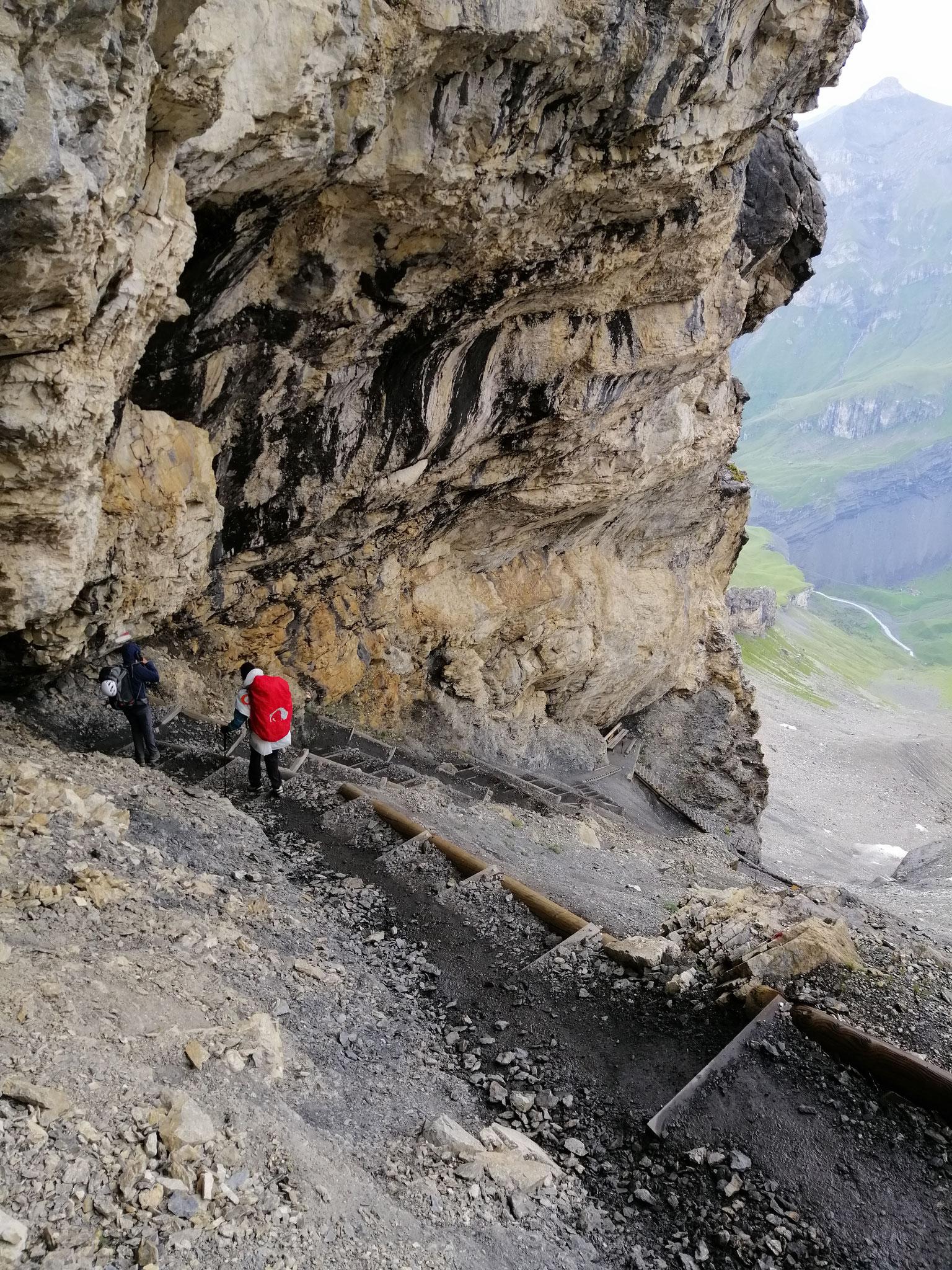 Abstieg richtung Bundalp, Kiental