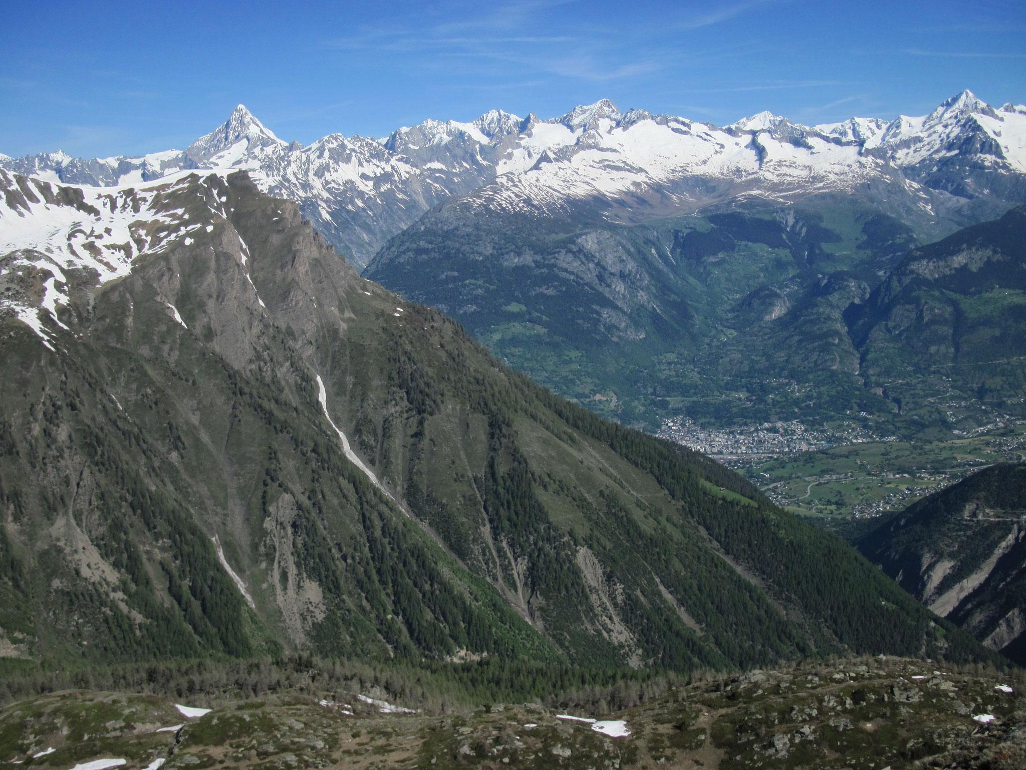 Brig, Naters bis zum Aletschhorn...
