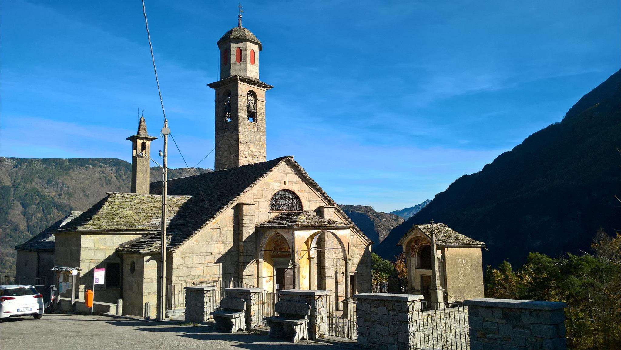 Kirche in Trasquera