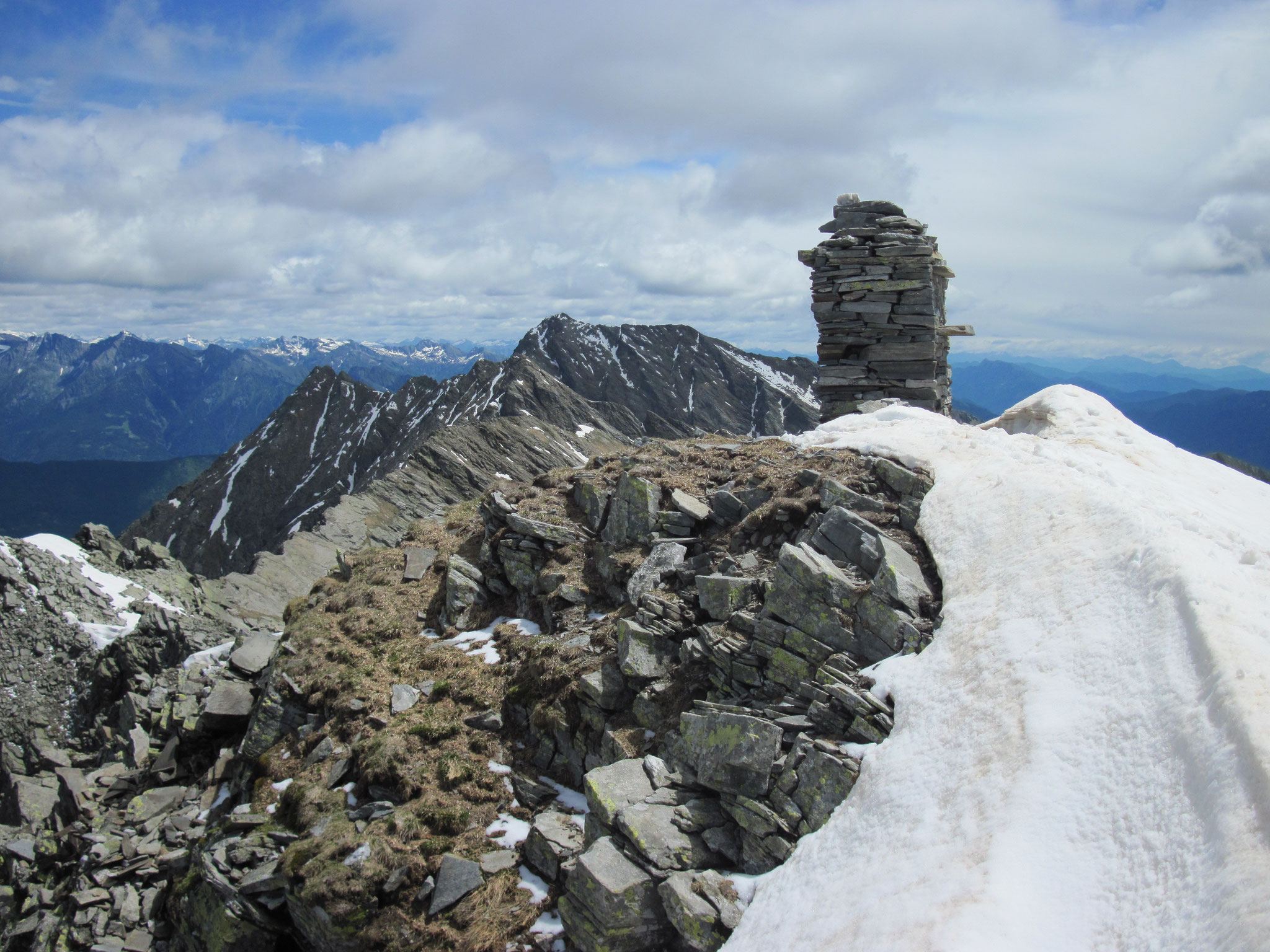 Gipfel vom Camoscellahorn