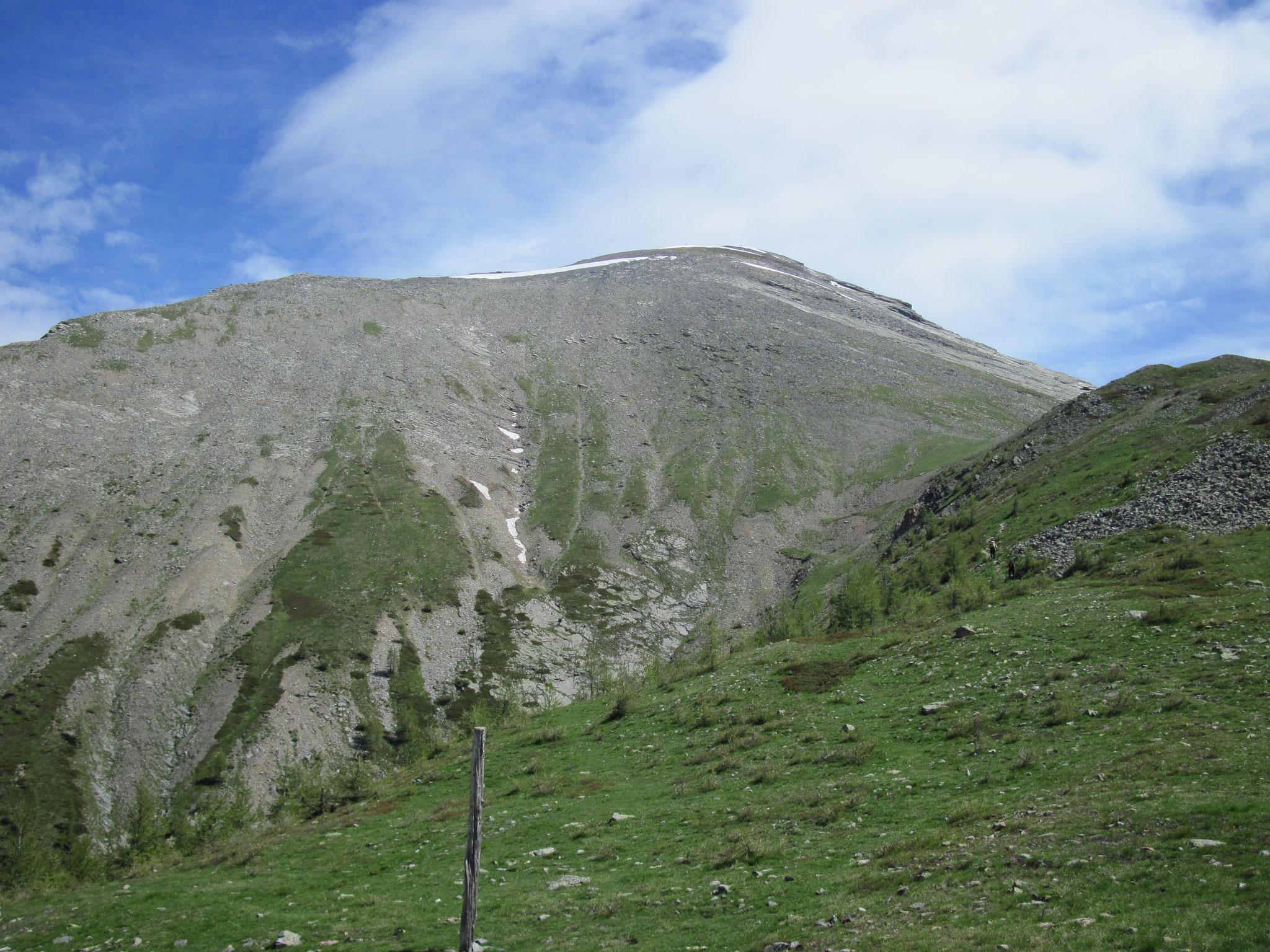 Blick vom Passo di Monscera zum Camoscellahorn