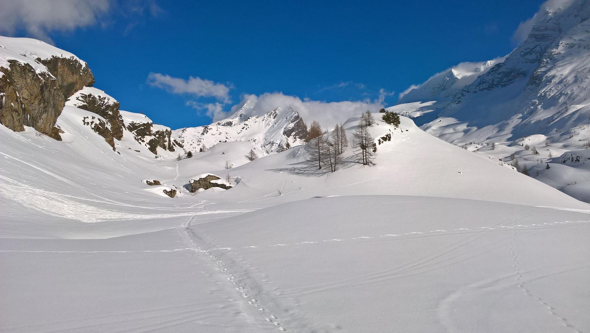 Winter auf dem Simplonpass