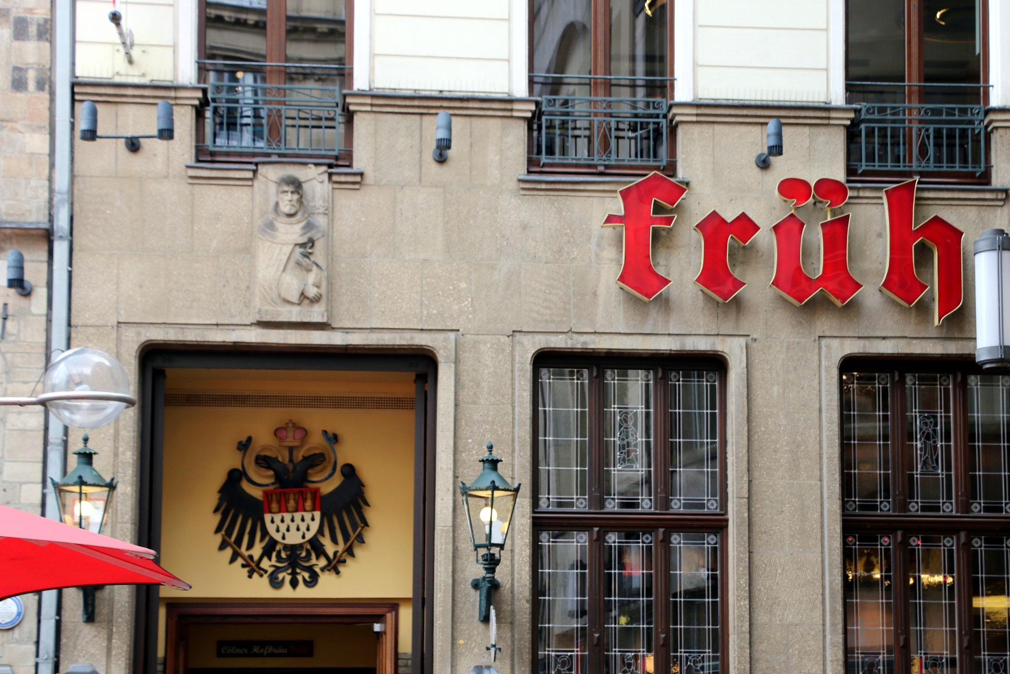 Kölsch & Römer - Brauhaus Früh, Am Hof (nahe Dom)