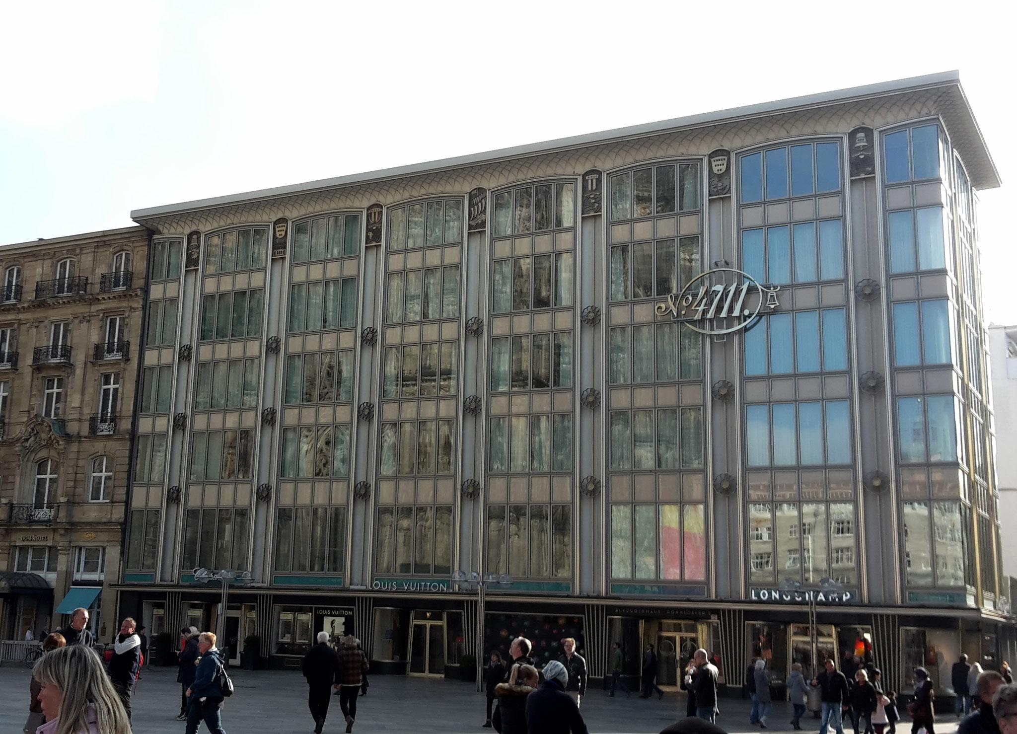 Führung Köln 50er/60er-Jahre - Blau-Gold-Haus (1952), ein Meisterwerk