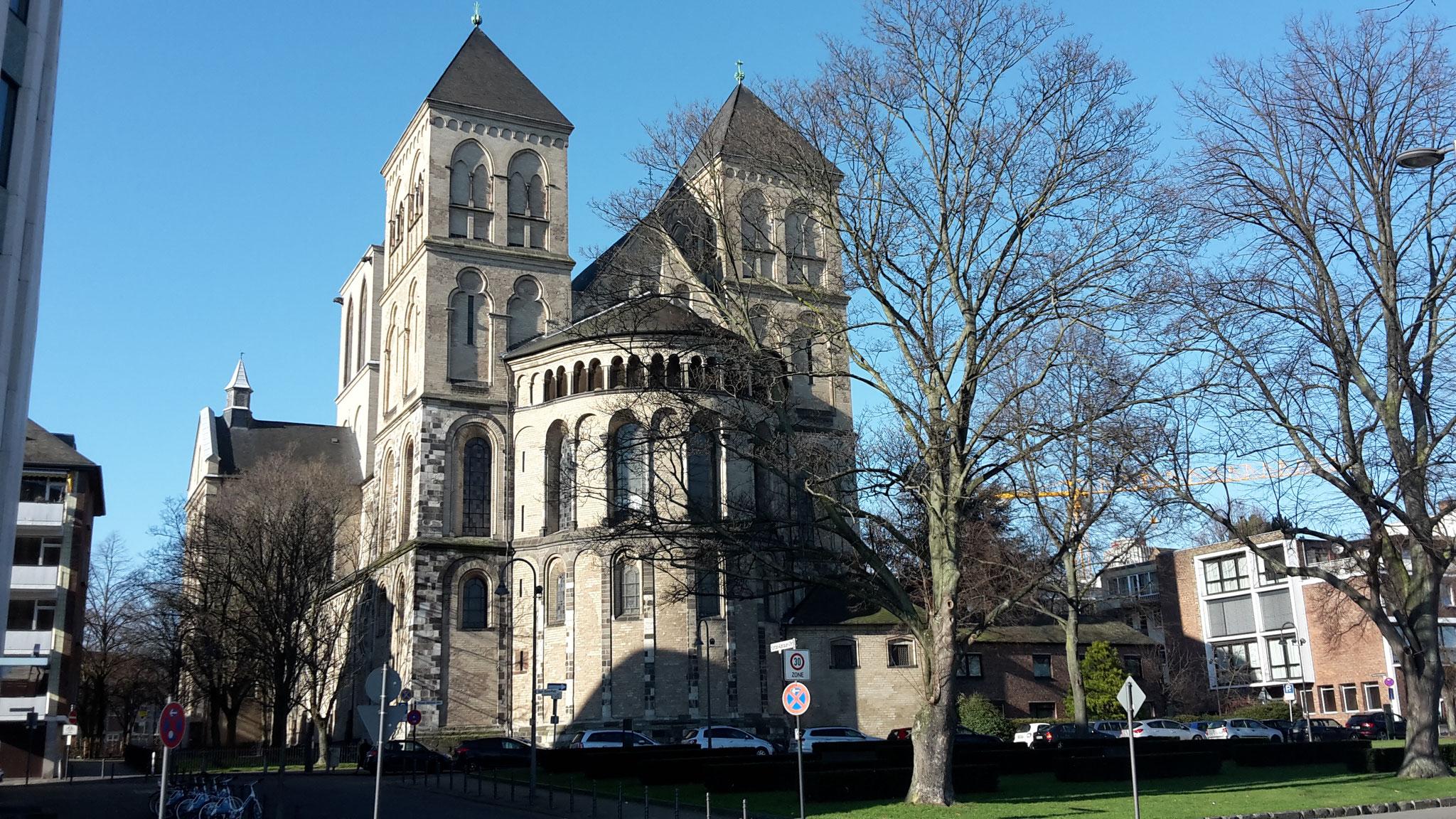 Führung Romanische Kirchen - St. Kunibert am Rhein (nahe Breslauer Platz)