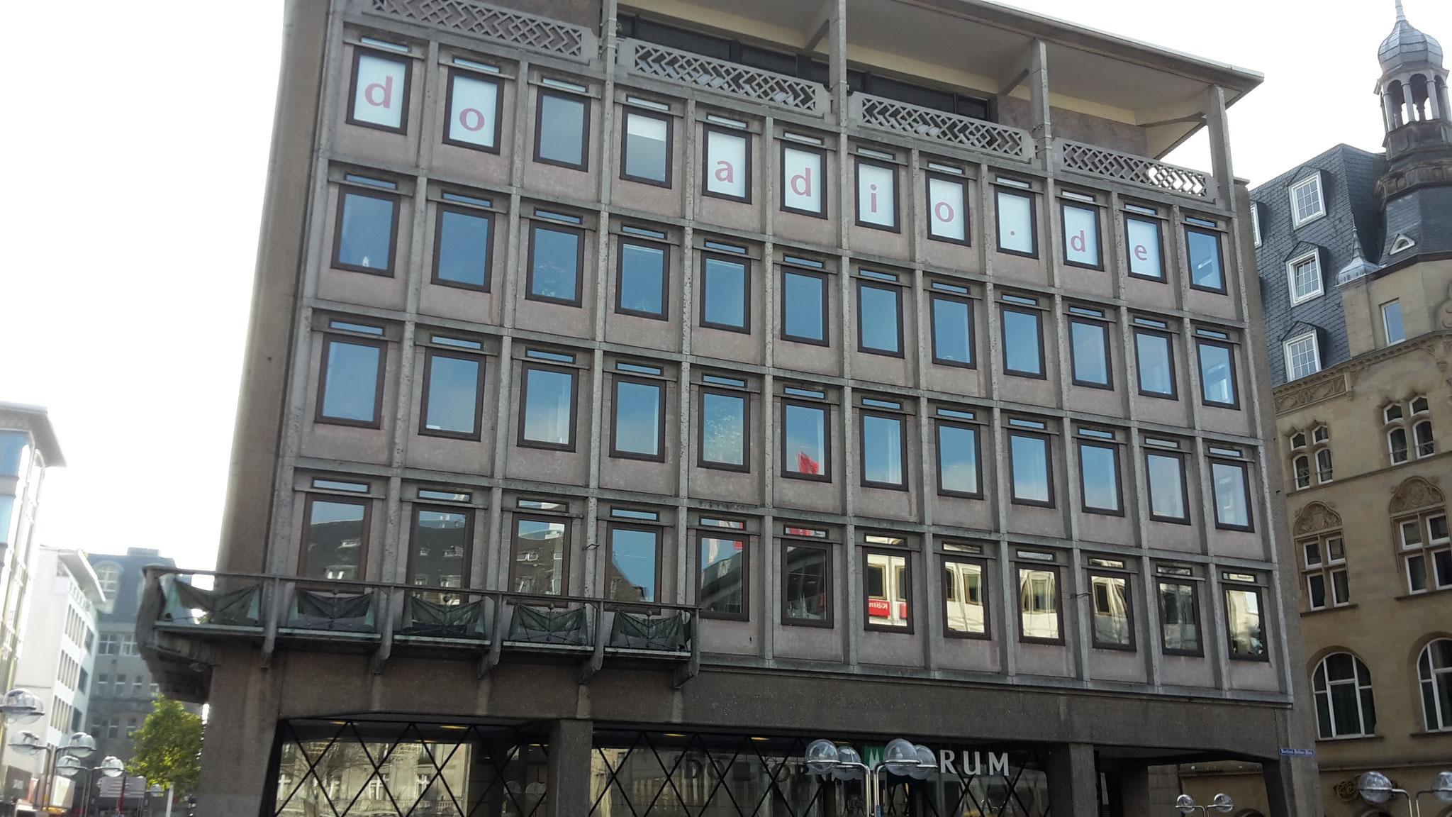 Führung Köln 50er/60er-Jahre - Domforum, ehemalige BFG-Bankfiliale (1953)