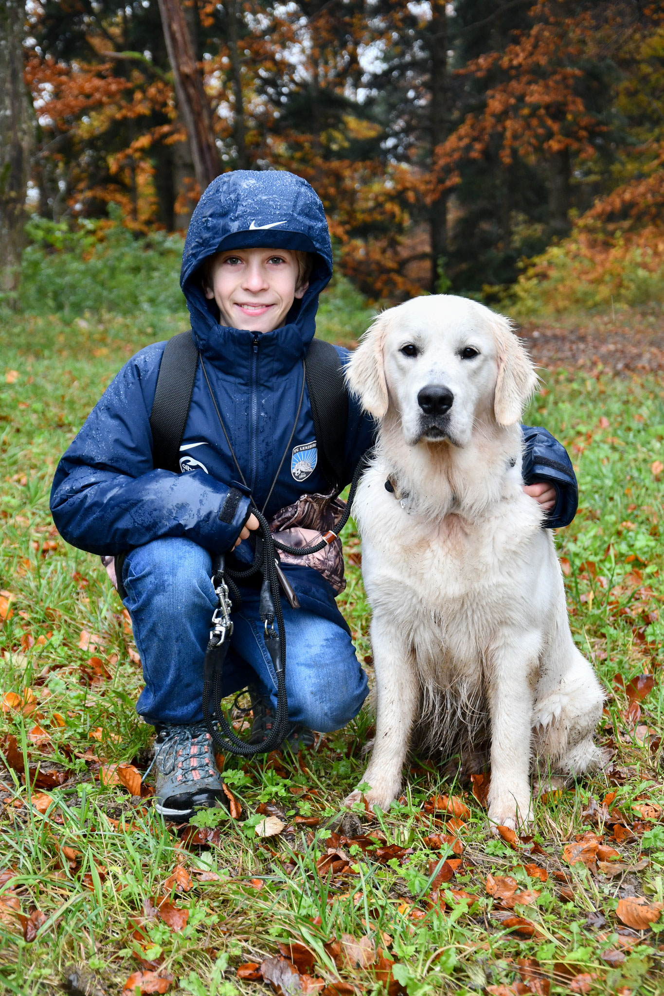 Youth Retriever Working Day auf der Indian Summer Ranch in Schinznach Dorf