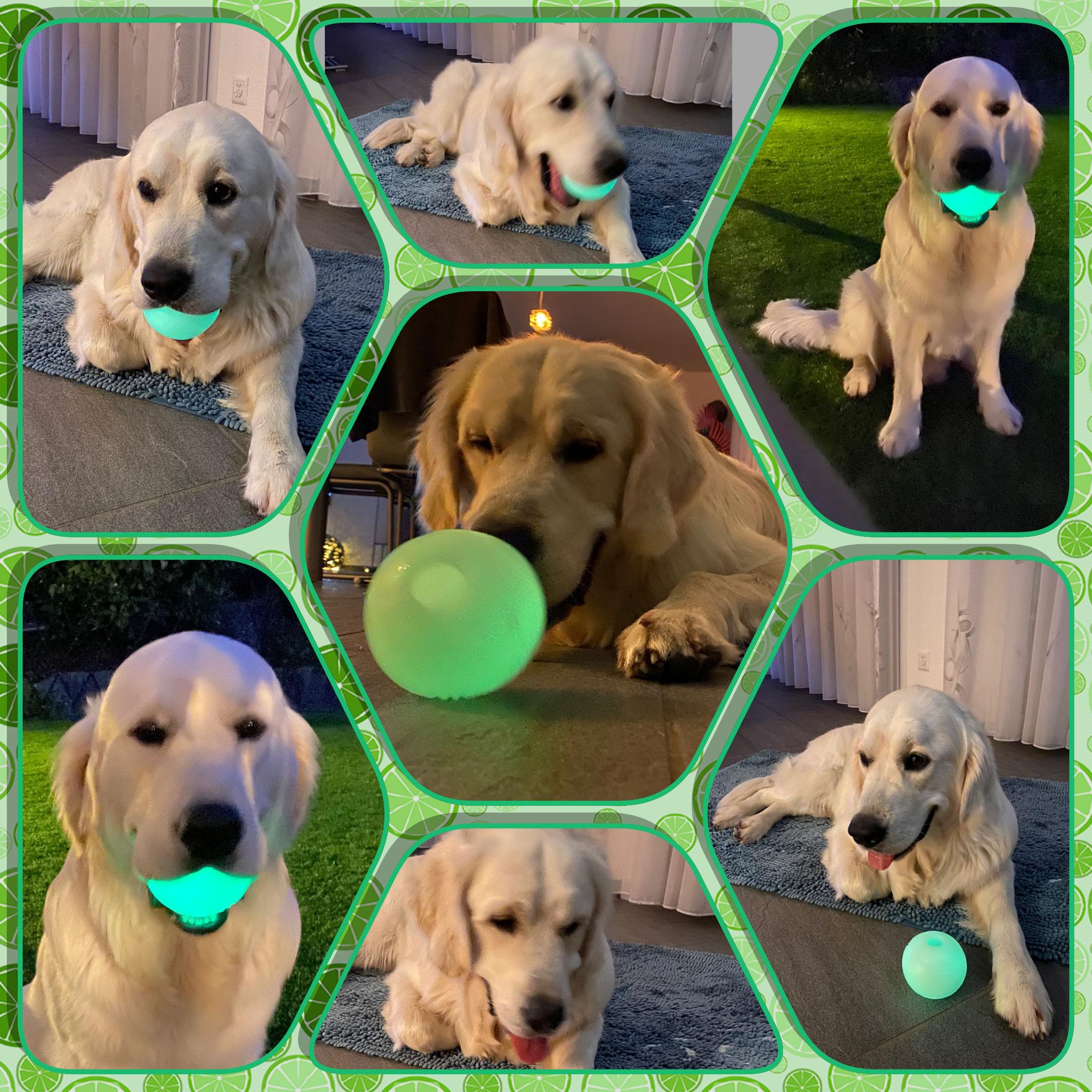 Fluoreszierender Ball