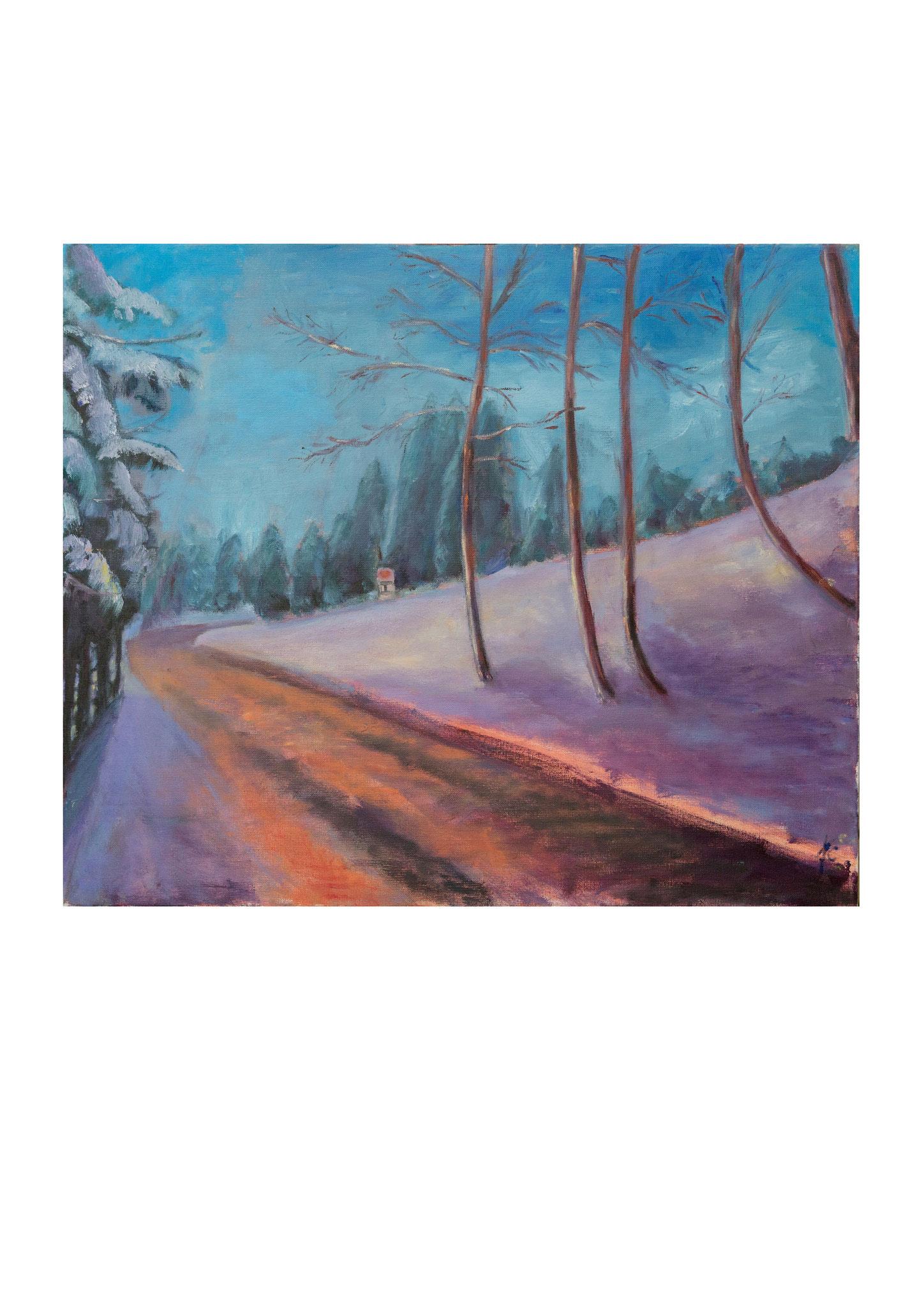 Winterweg.