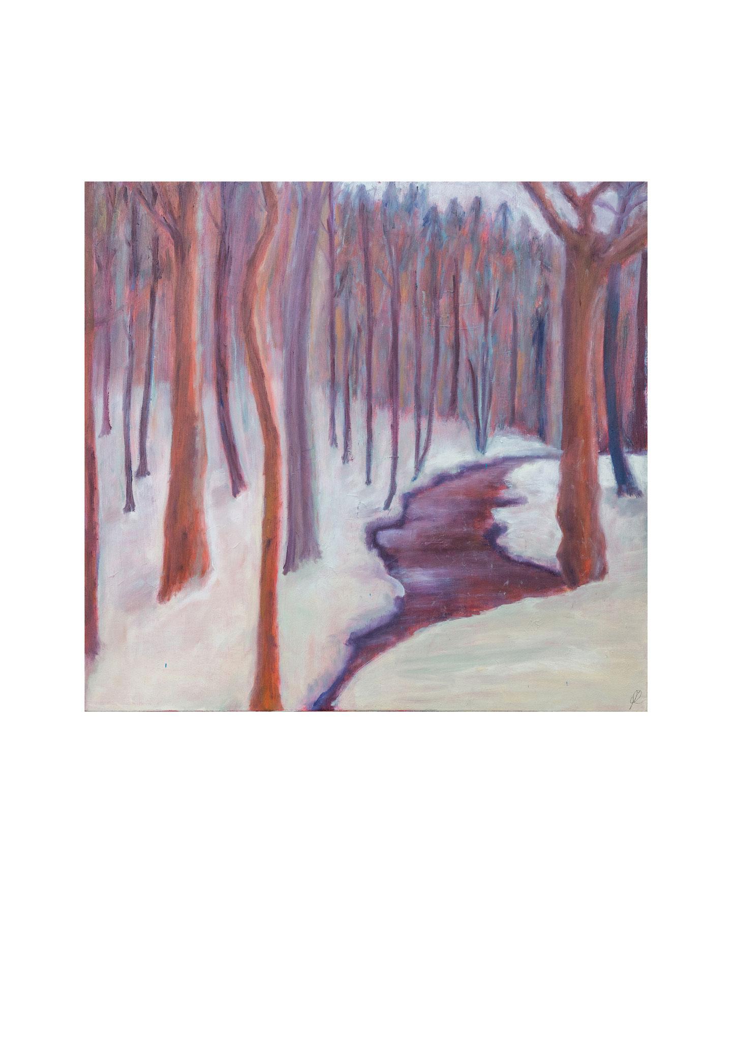 Winterlandschap. 2016.