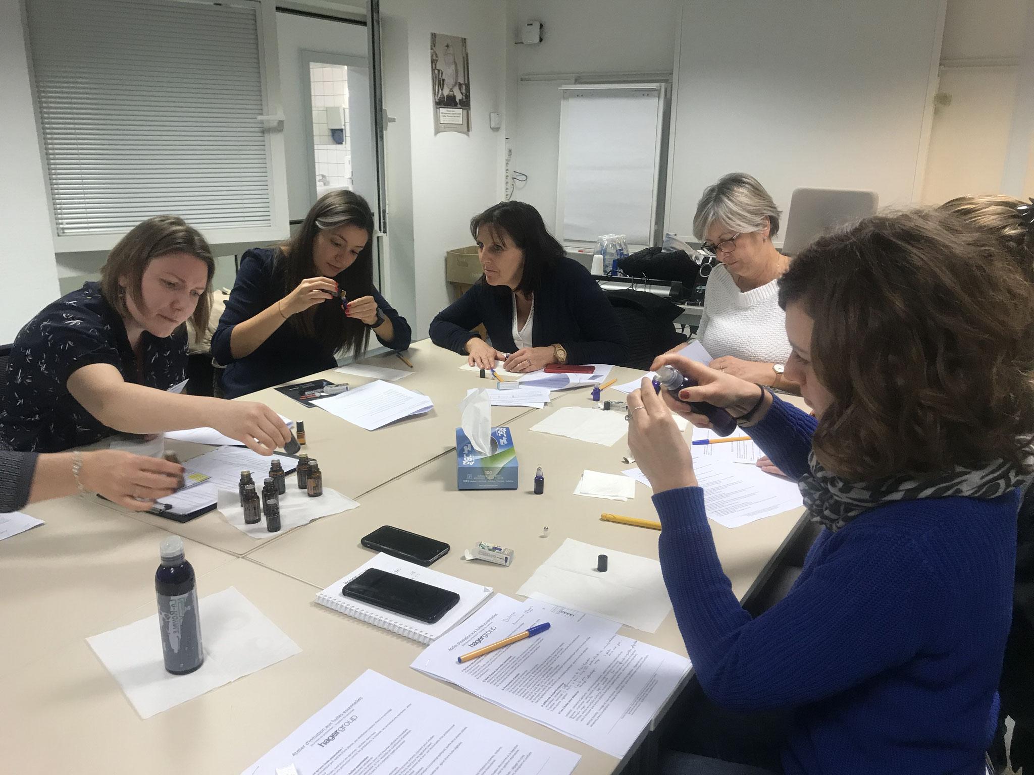 Ateliers d'initiation aux huiles essentielles - Hager Obernai 2019