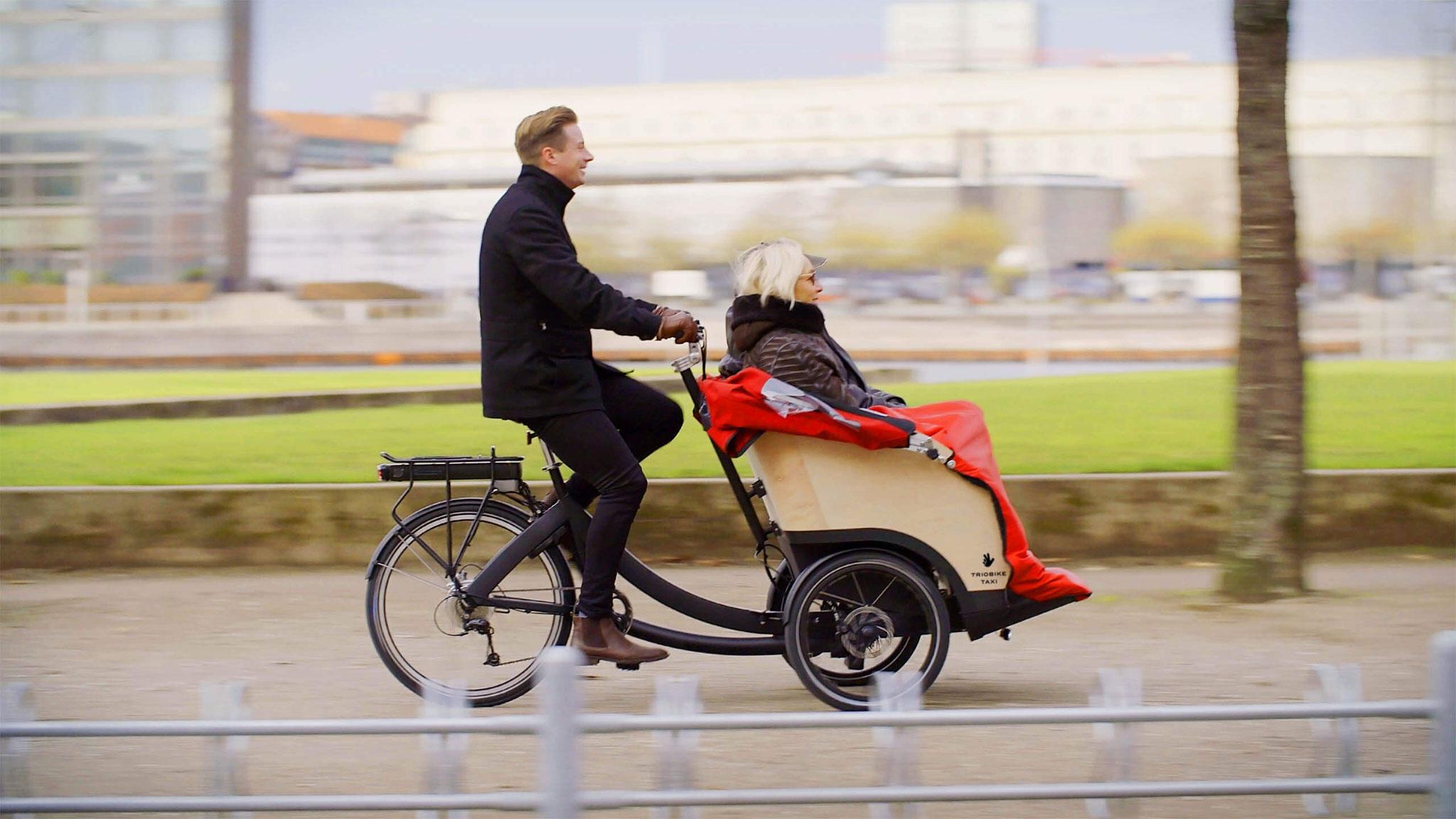 Triobike Taxi Cargo e-Bike 2019