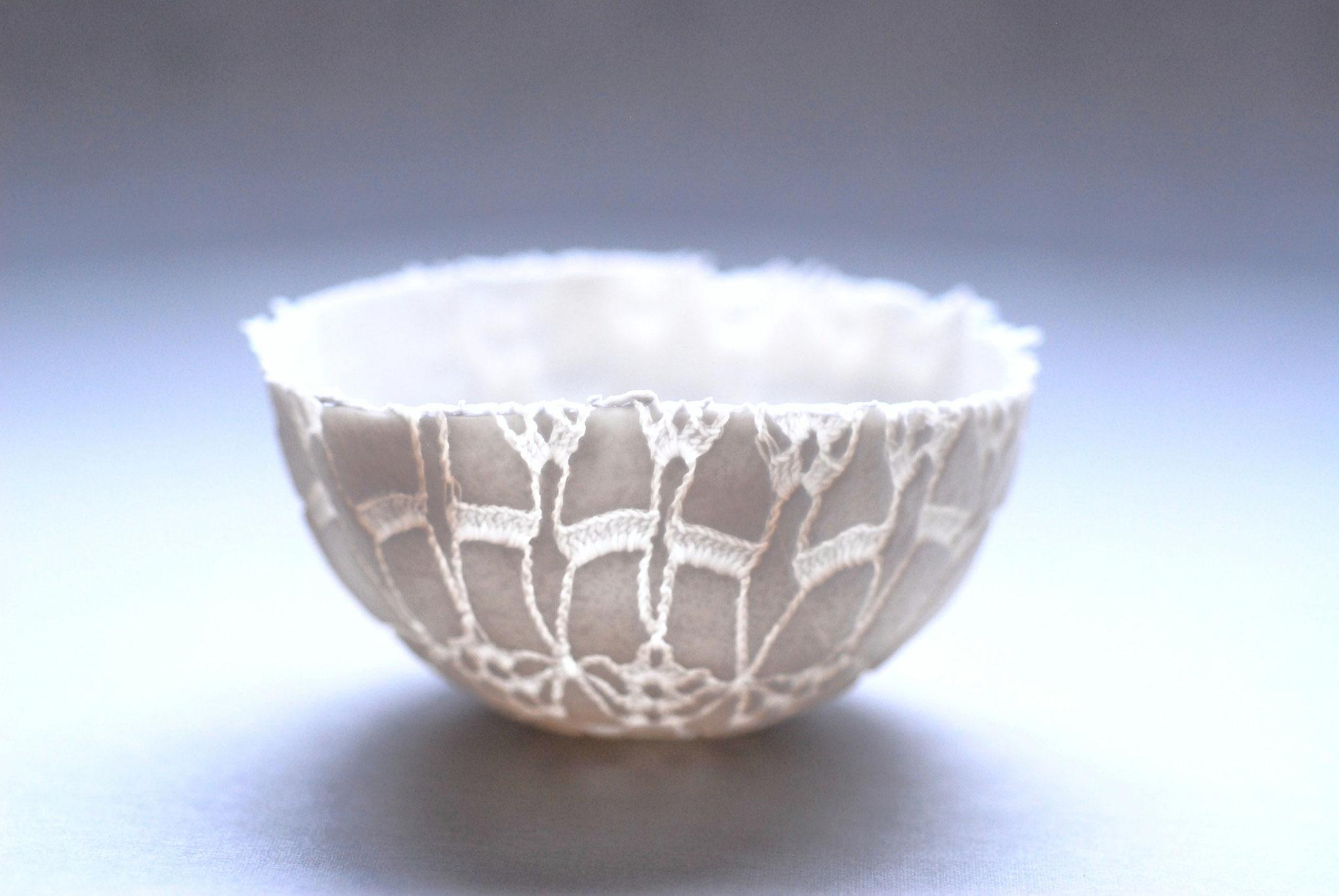 Porzellanobjekt antike Spitze