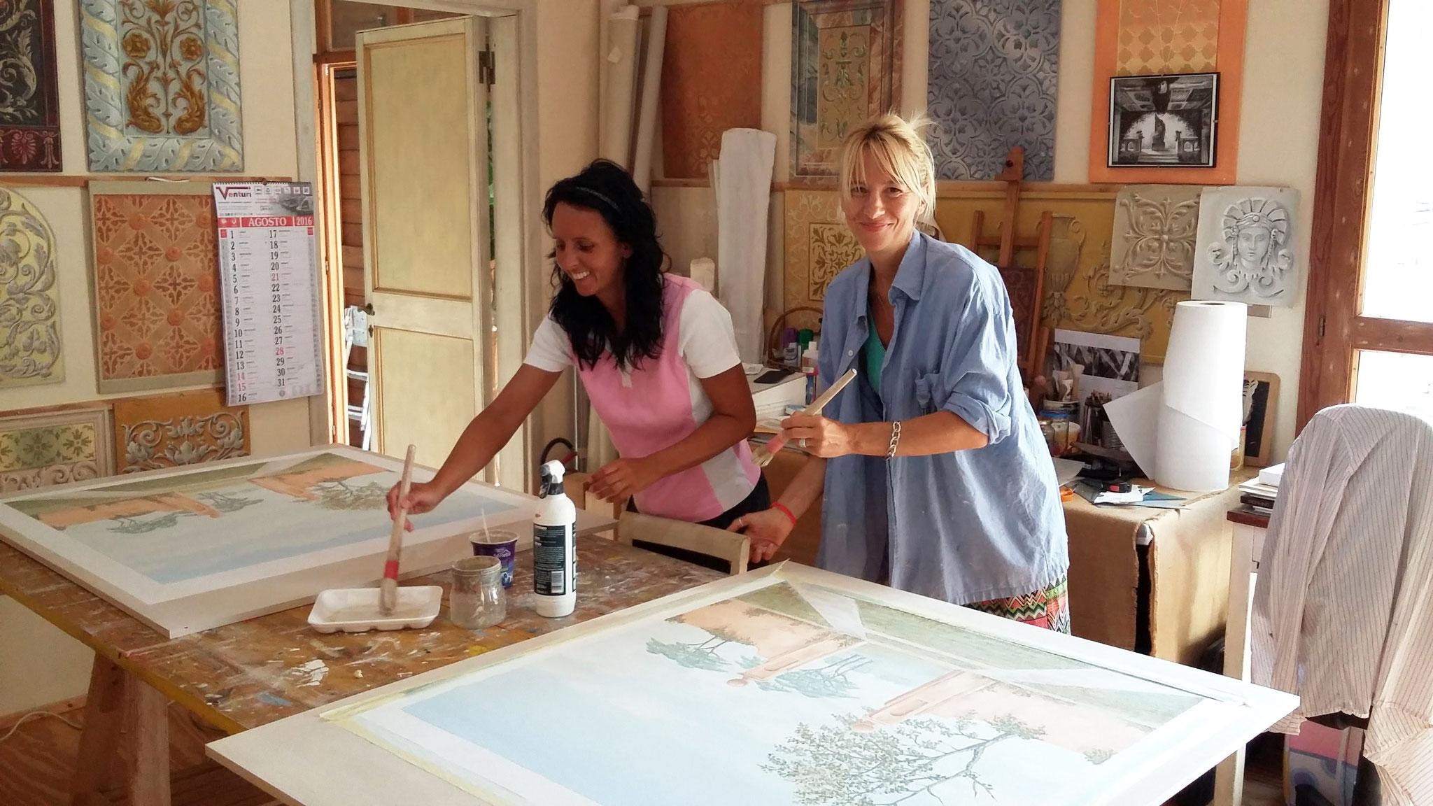 Manuela e Silvia from Reggio Emilia