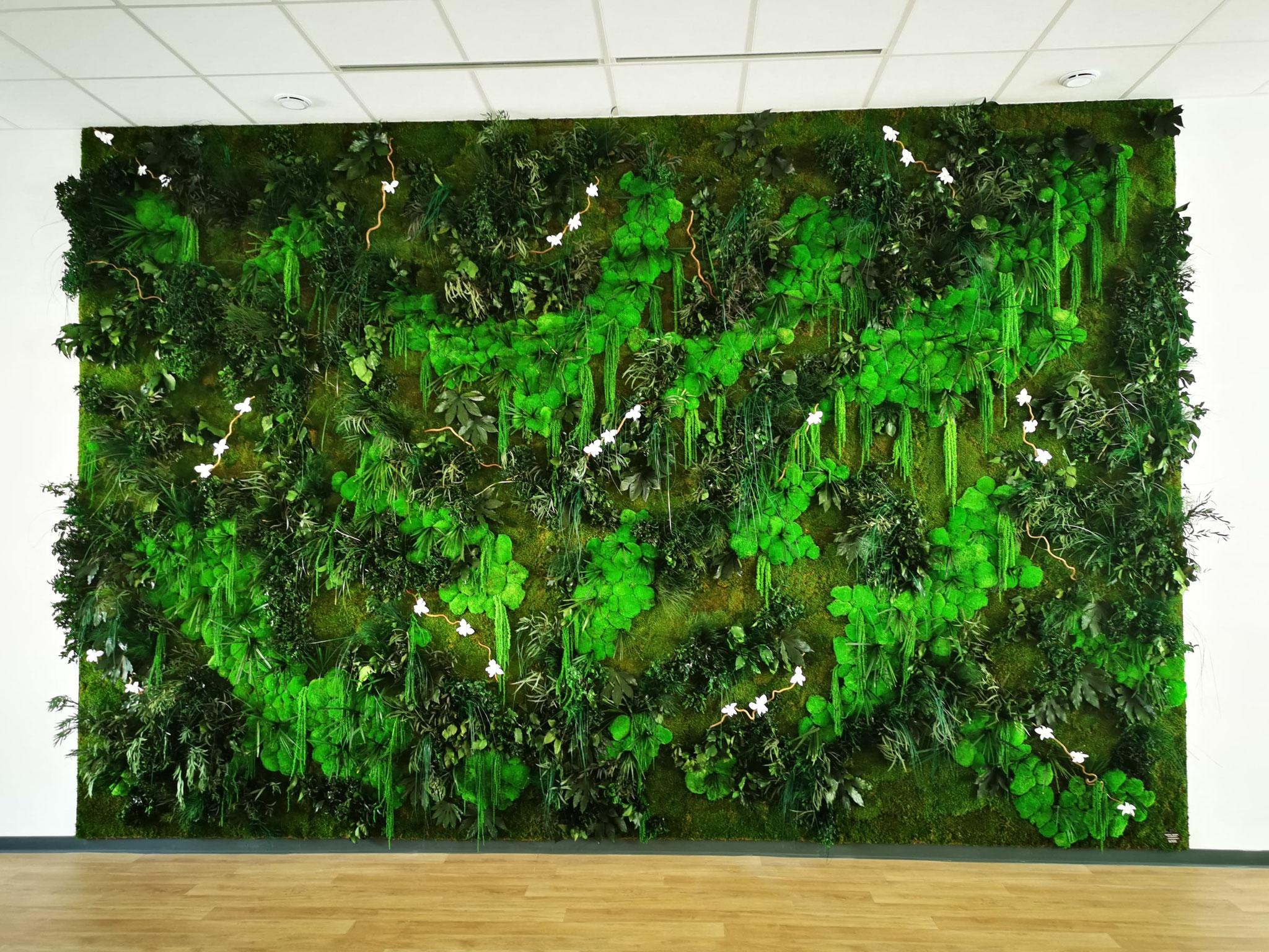 Mur végétal gamme relief (FAUCHÉ)