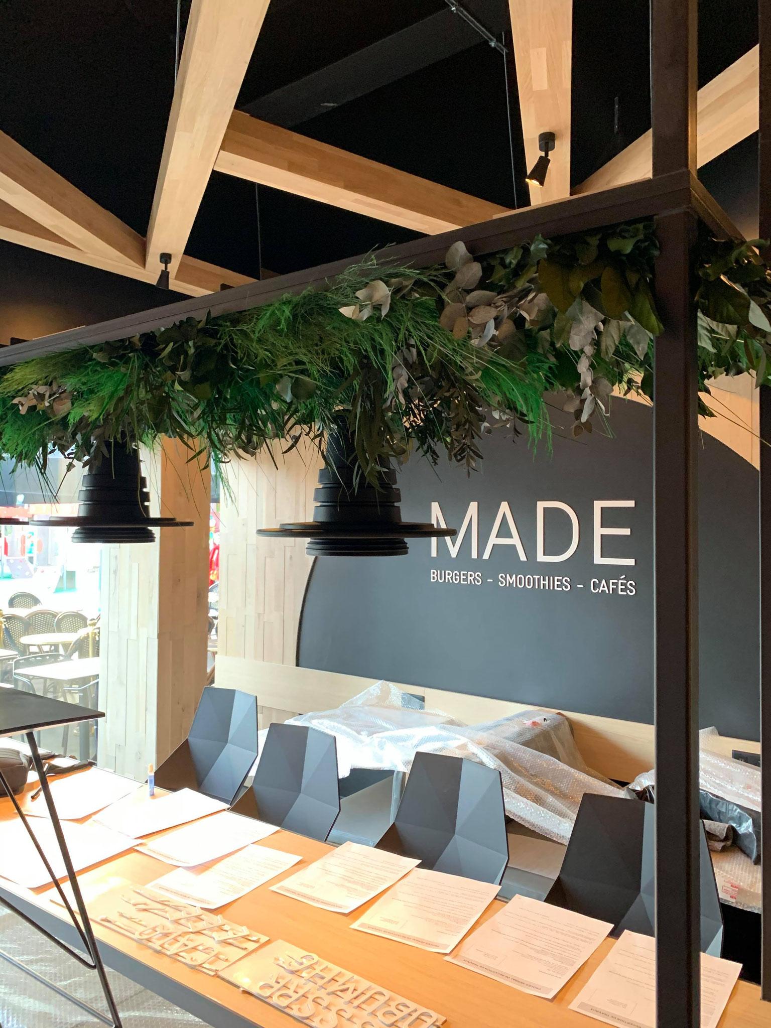 Plafond végétal gamme feuillu (MADE)