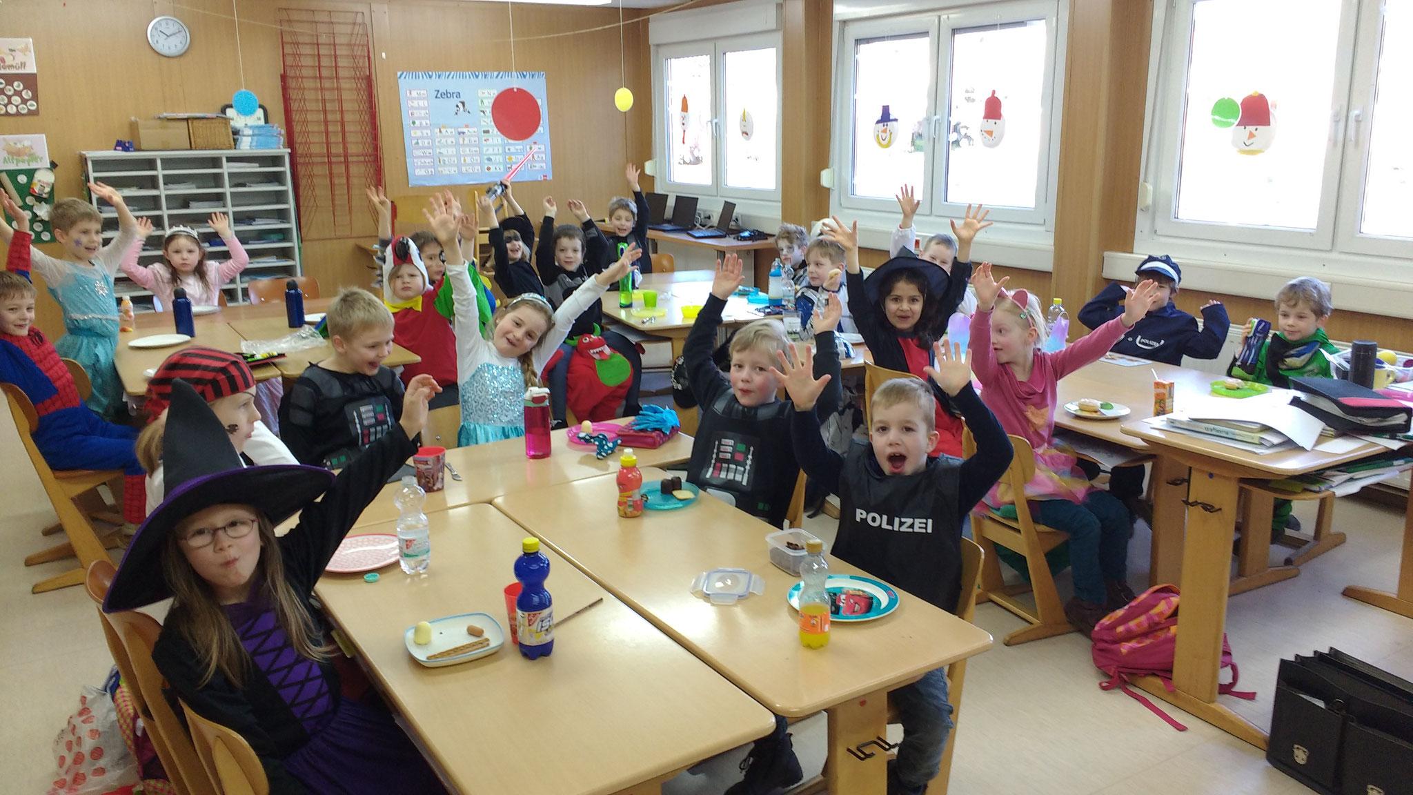 Gruppenbild Klasse 1