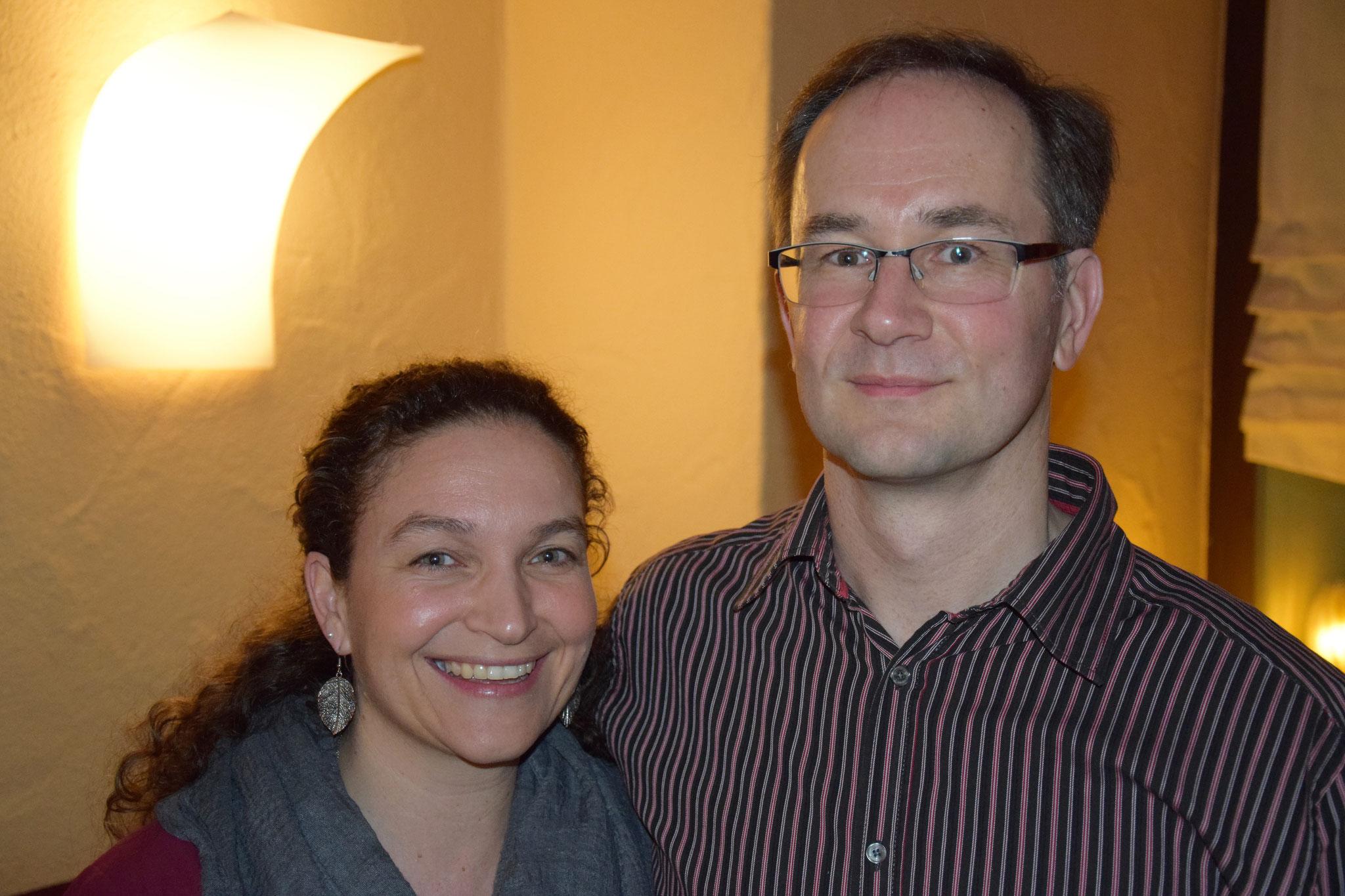 Bürgermeisterkandidat Jochen Drechsler mit Frau Annette