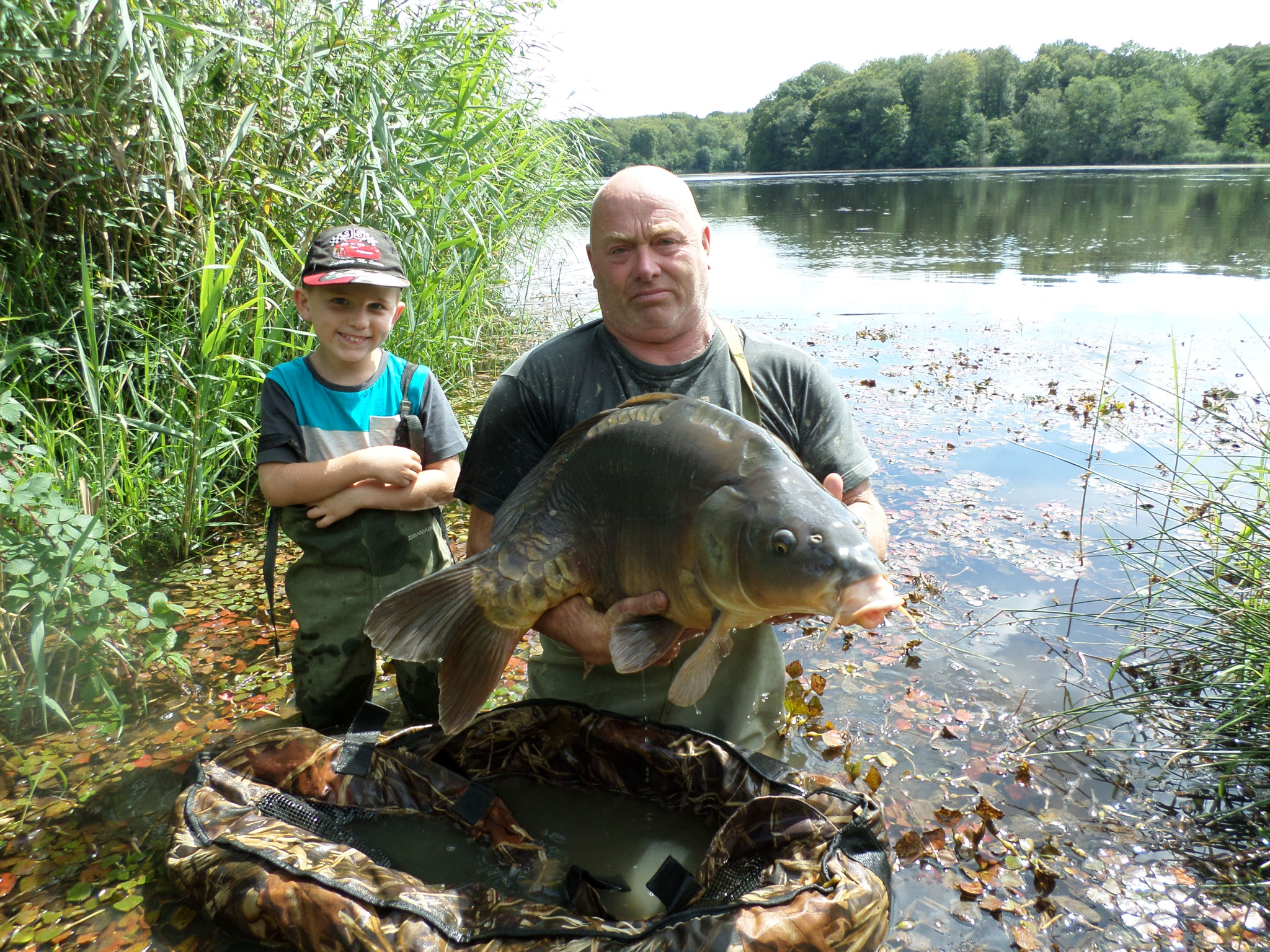 Etang de pêche à la carpe - Chêne-bernard - Pisciculture de la dorme - Jura