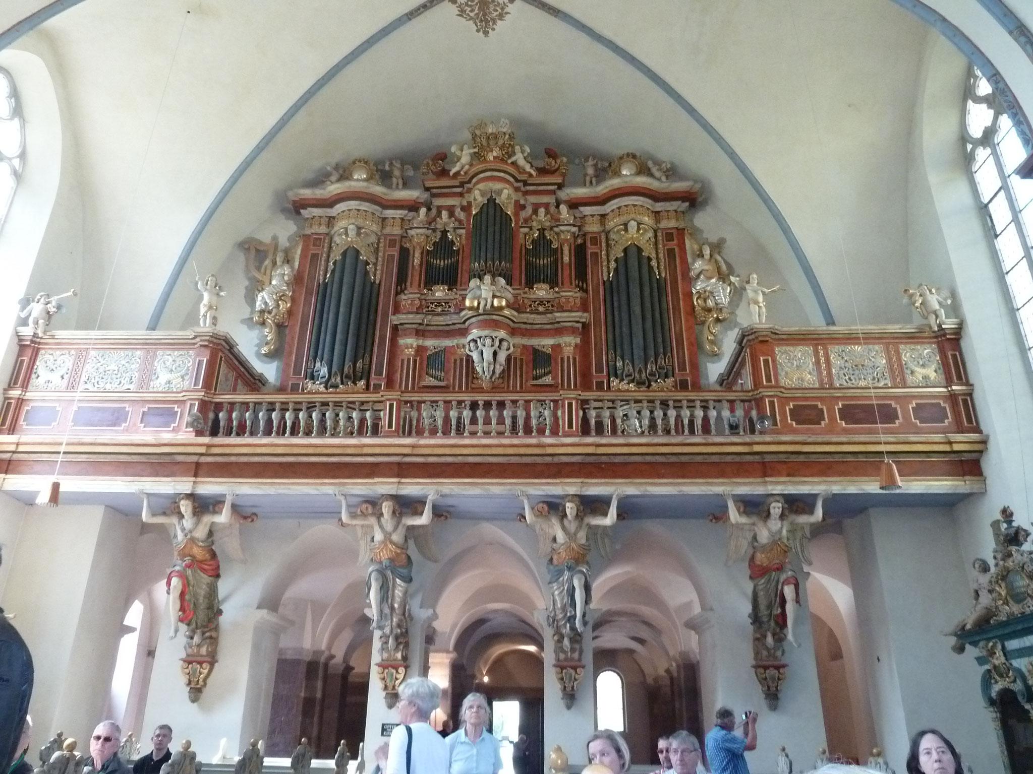 Die Orgel der Klosterkirche
