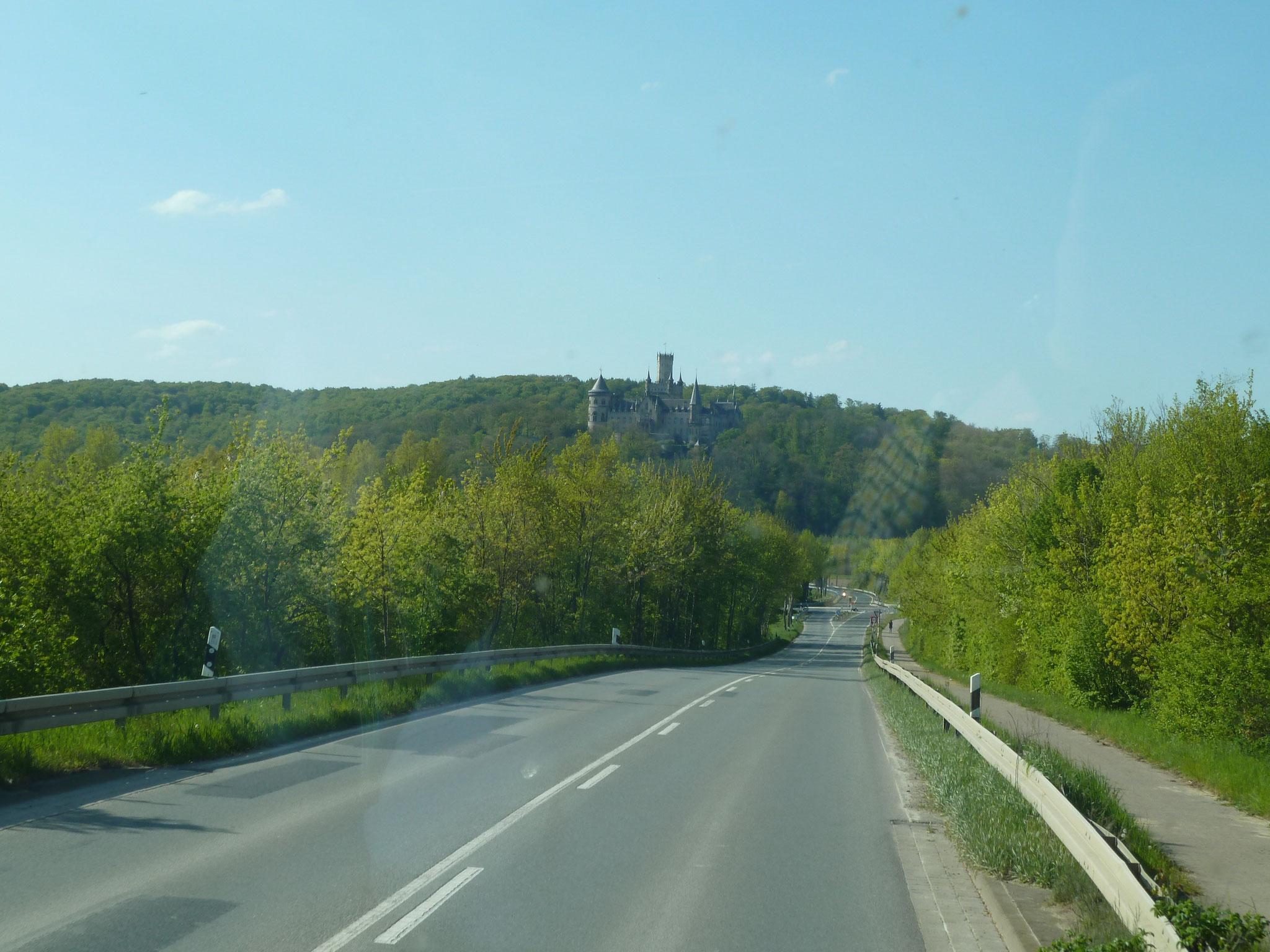 Auf dem Weg zur Marienburg