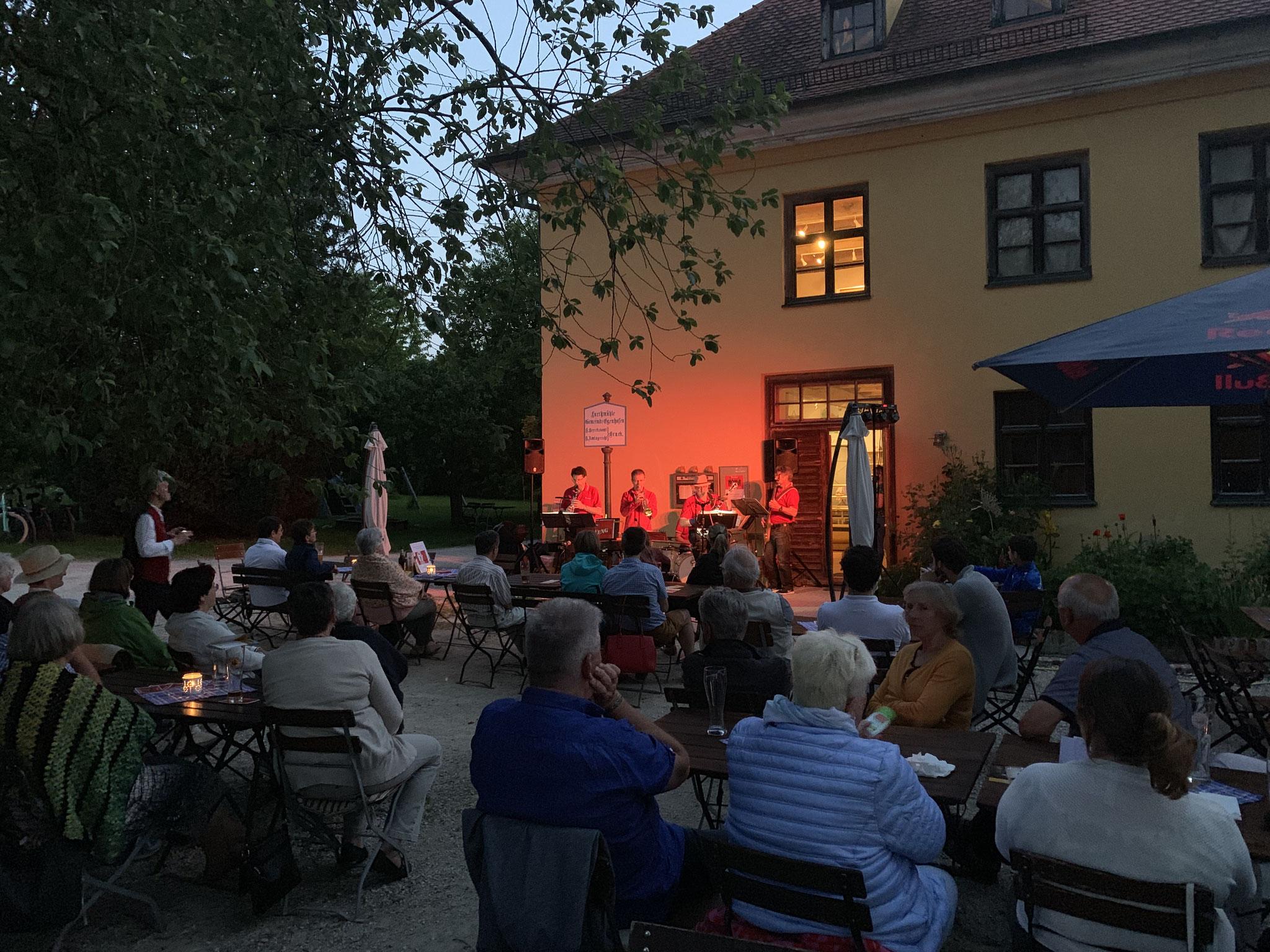 Jazz-a-weng in der Abendstimmung