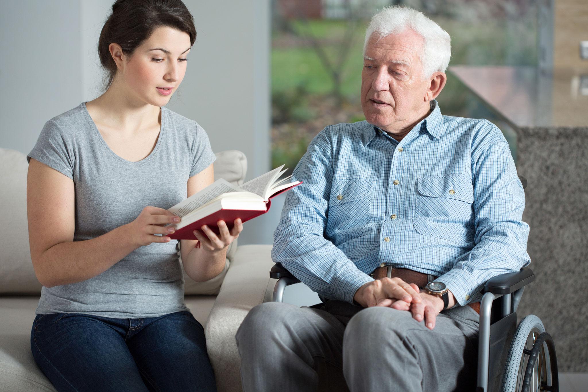 Seniorenbetreuung mit Herz