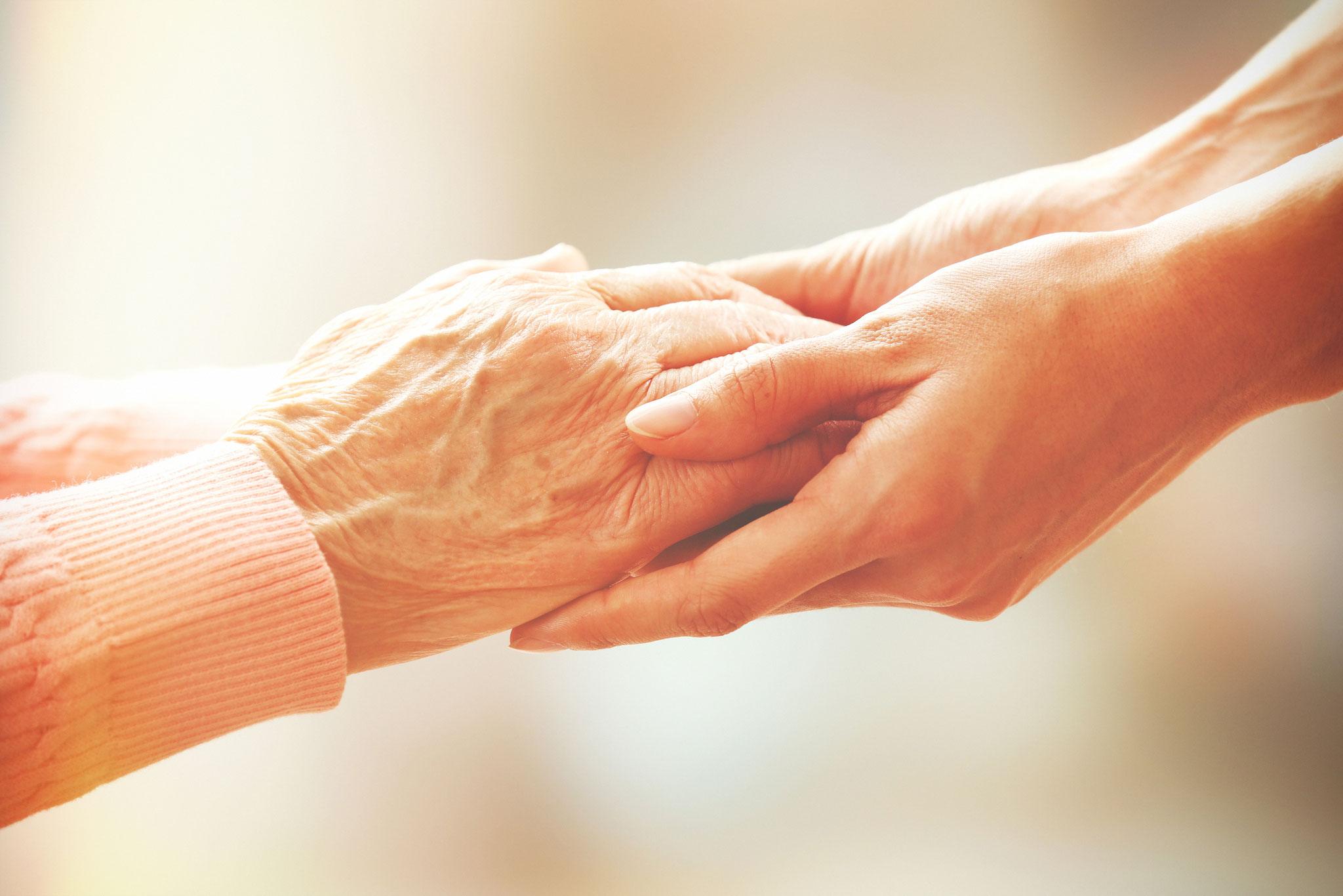 Wir sind für Sie da! Seniorenbetreuung in Mülheim an der Ruhr.