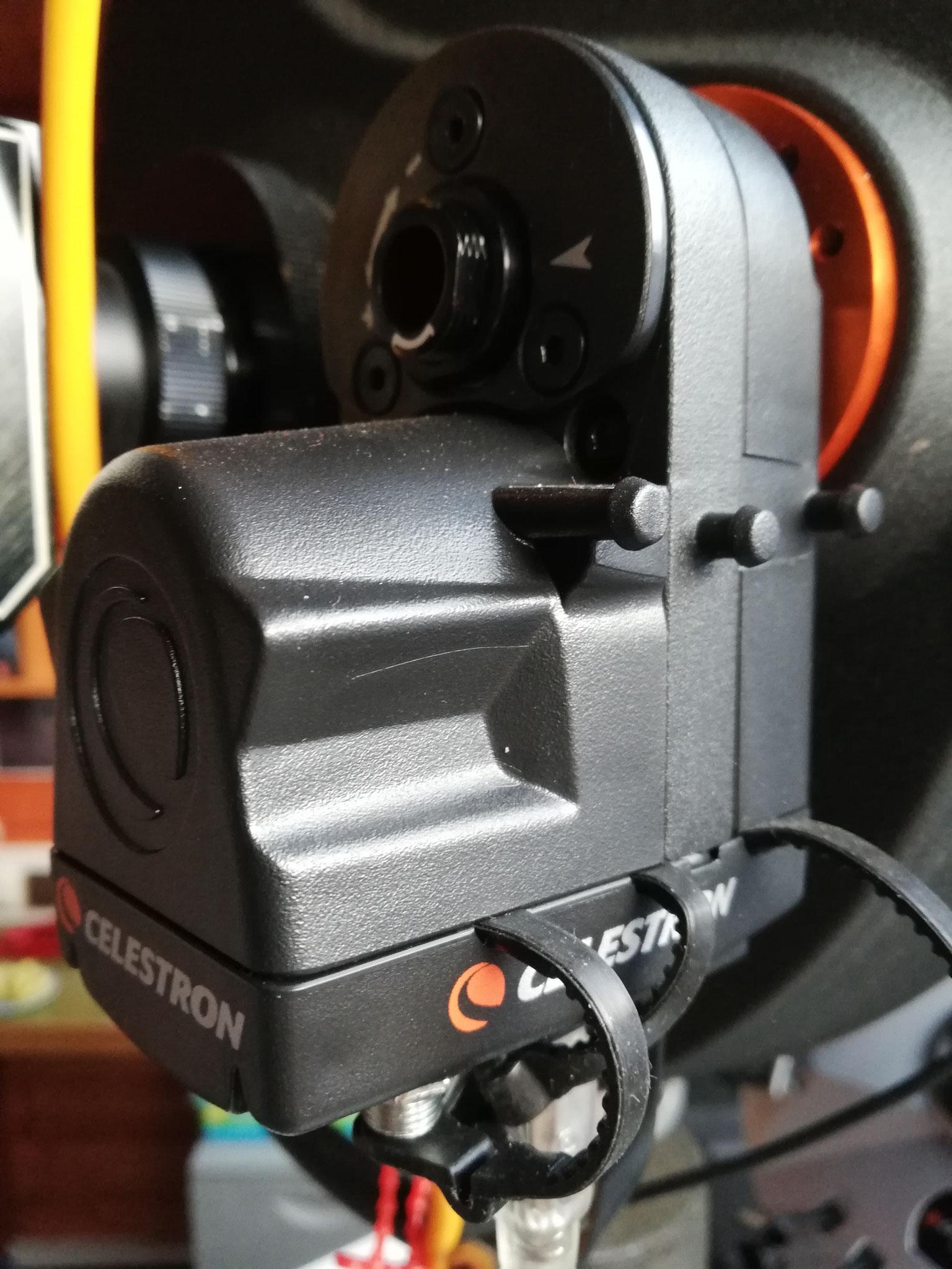 Unser Motorfocus von Celestron - das Teil funktioniert