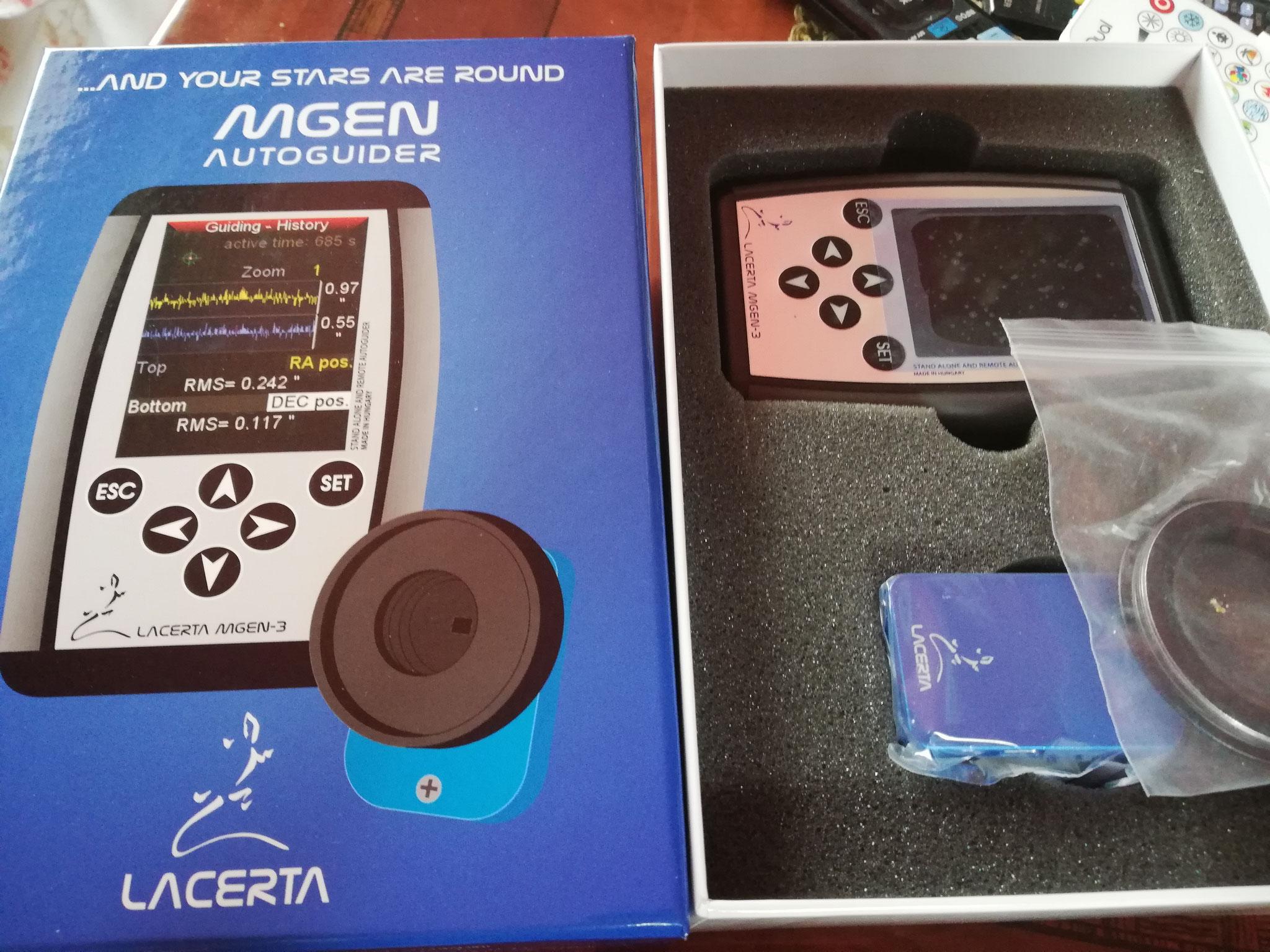Der neue MGEN3 ist angekommen