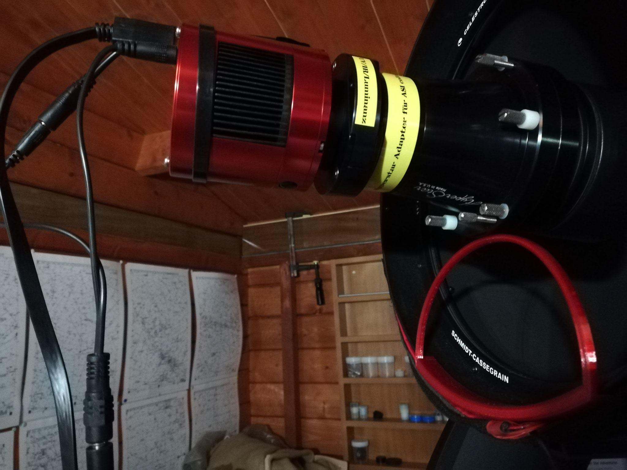 Tests mit der ZWO Asi 1600 mmpro