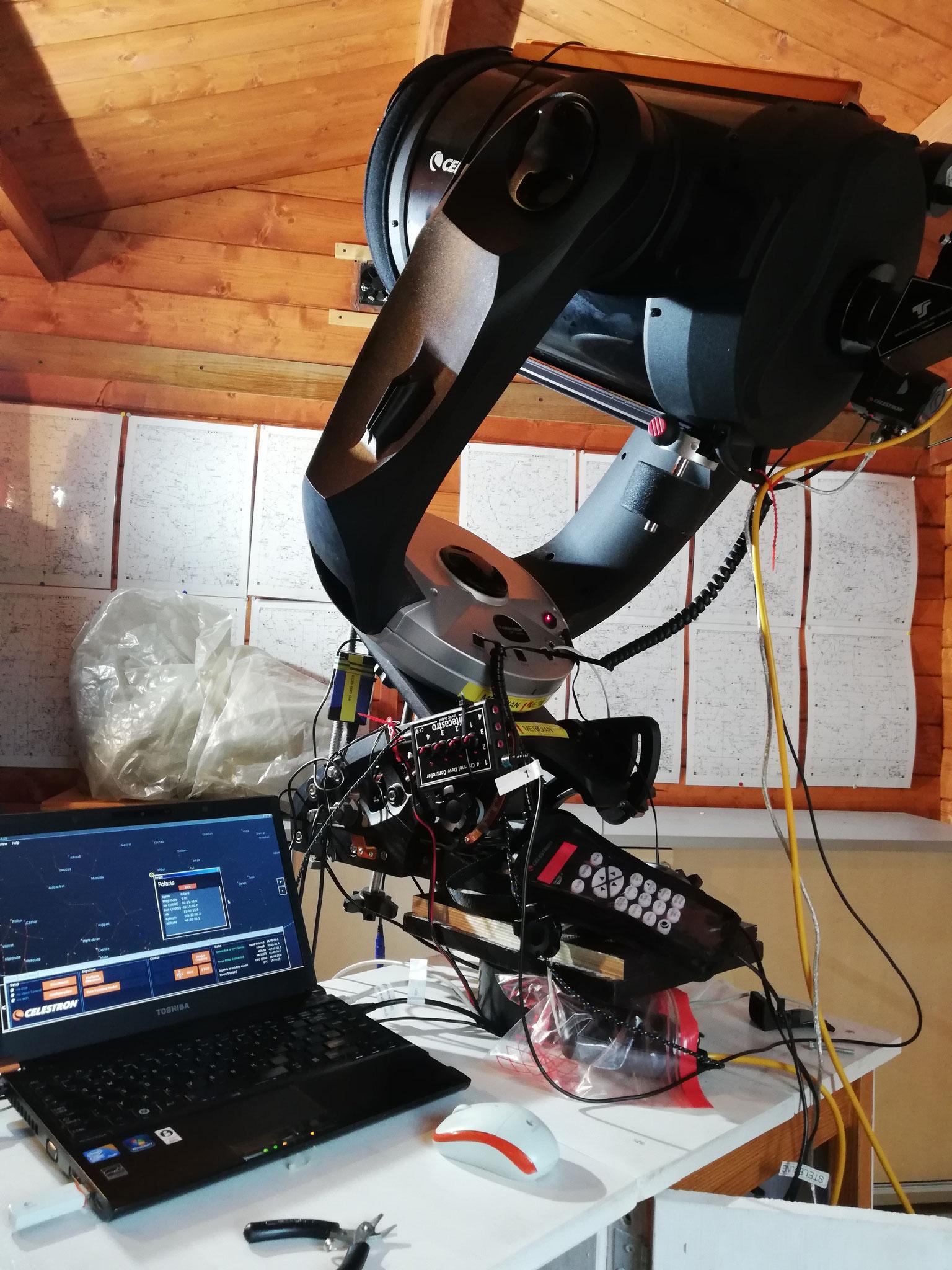 Ausbau des Defekten RA-Motors - neuer Motor eingebaut - es funktioniert