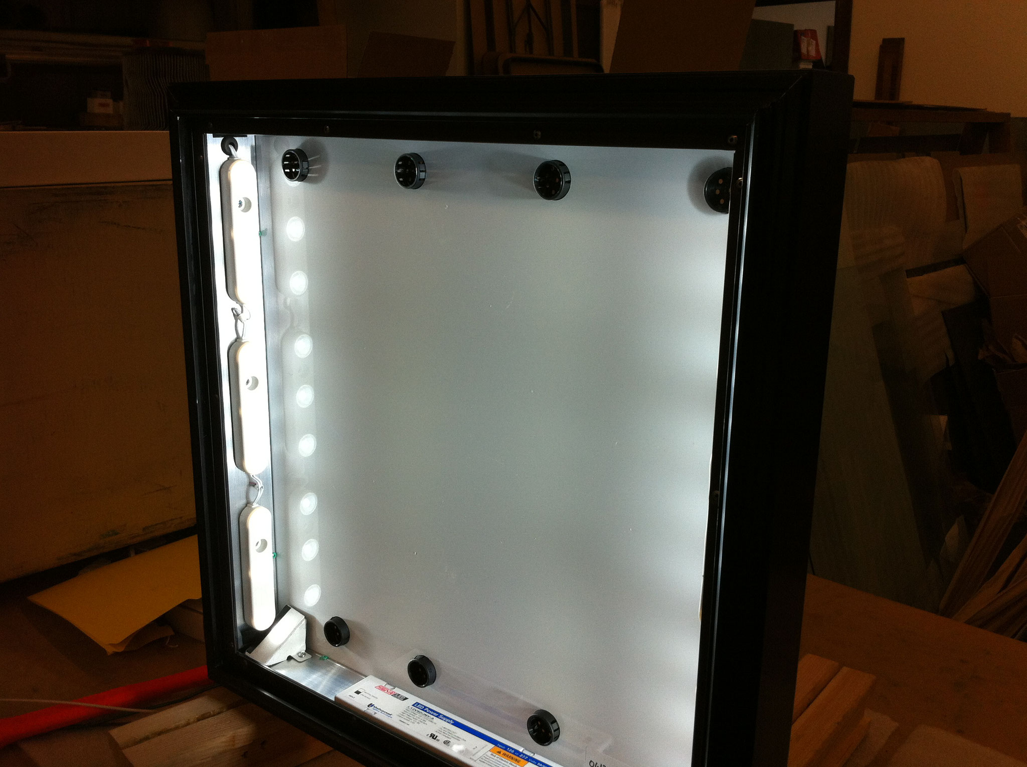 LED illuminated Directory Sign